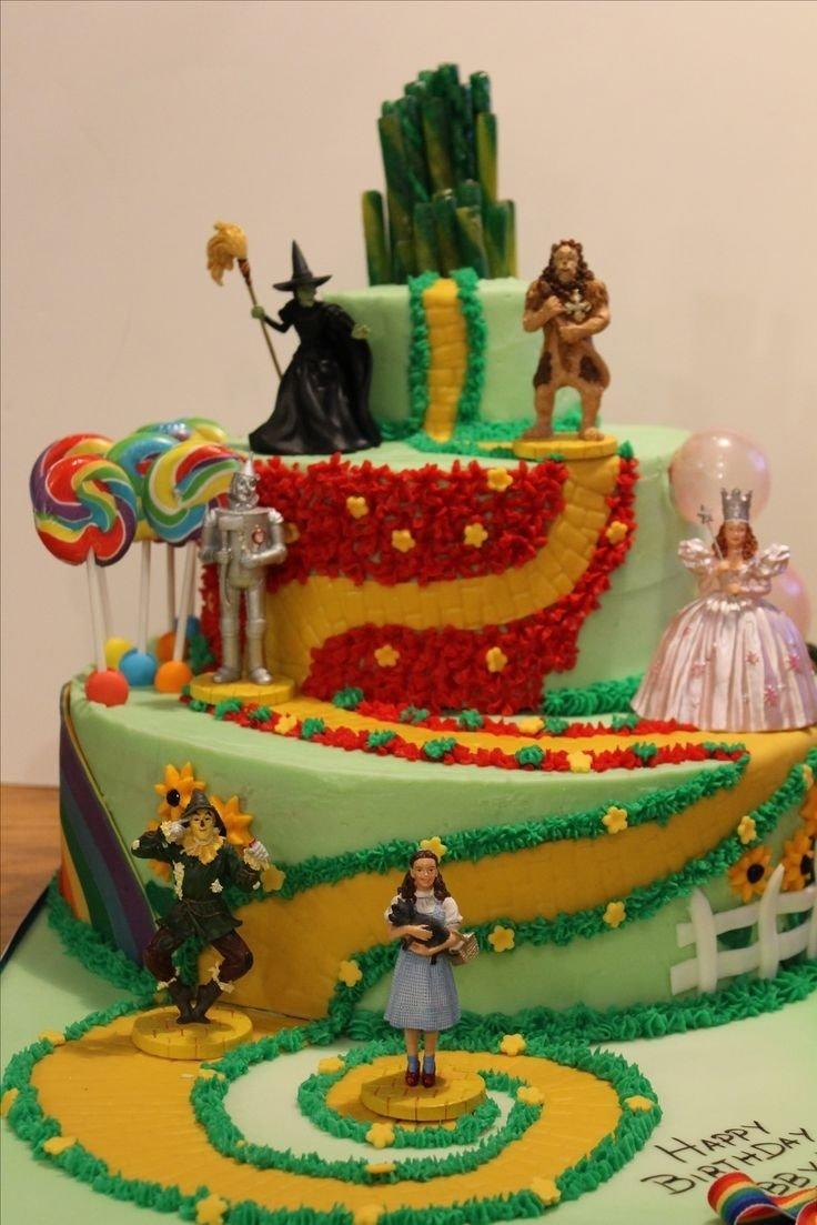 10 Pretty Wizard Of Oz Cake Ideas wizard of oz birthday cake reha cake 2020