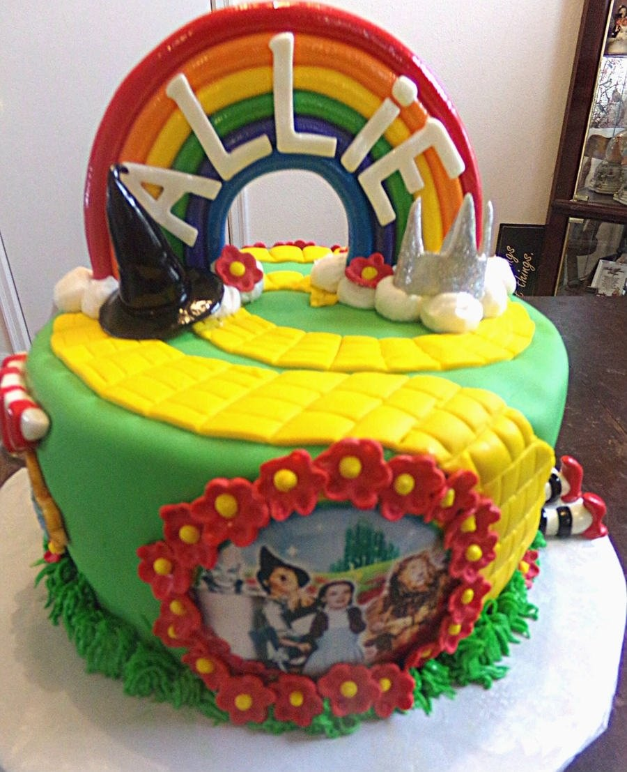 10 Pretty Wizard Of Oz Cake Ideas wizard of oz cake cakecentral 2020
