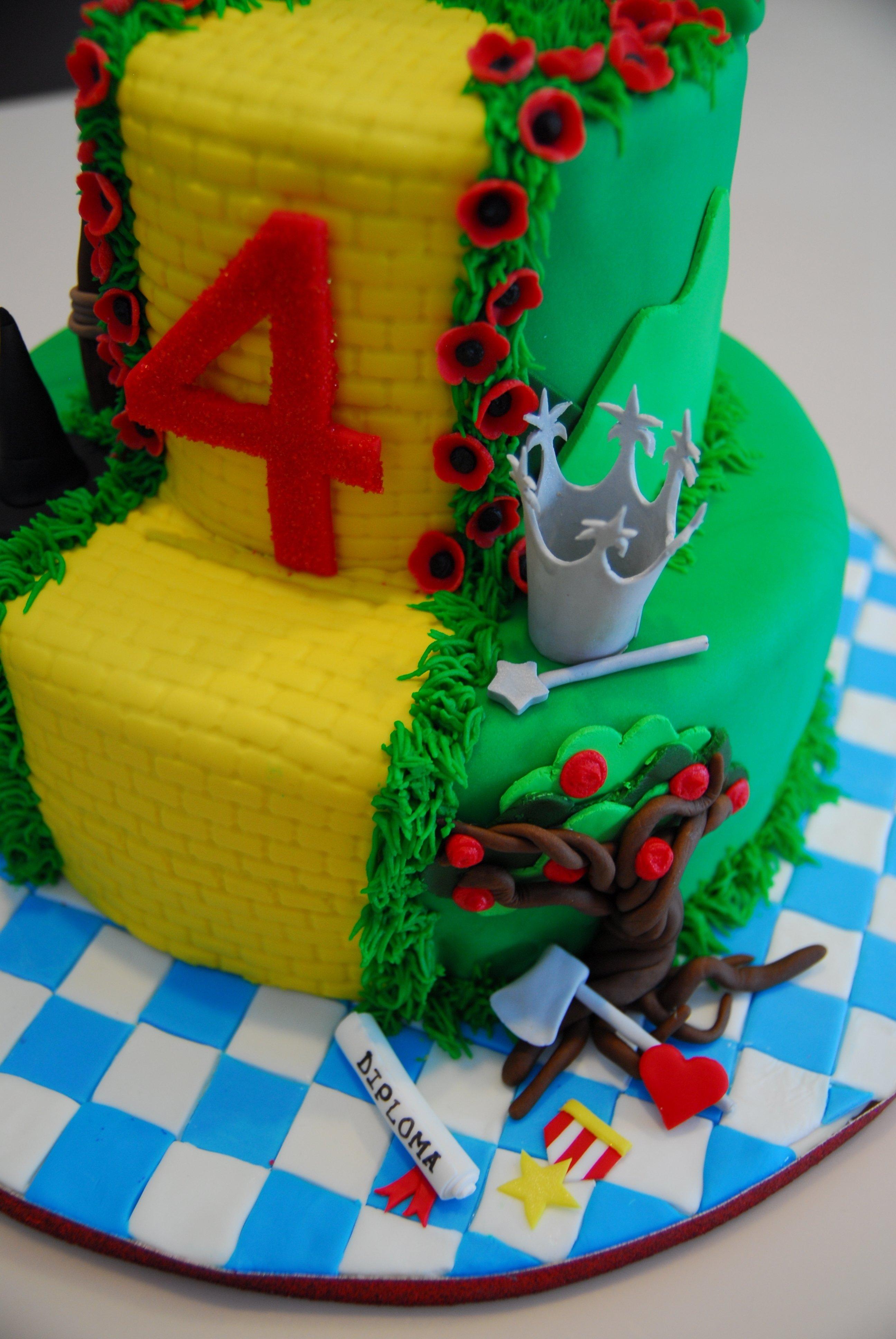 10 Pretty Wizard Of Oz Cake Ideas wizard of oz cake wizard of oz cakes pinterest cake birthdays 2020