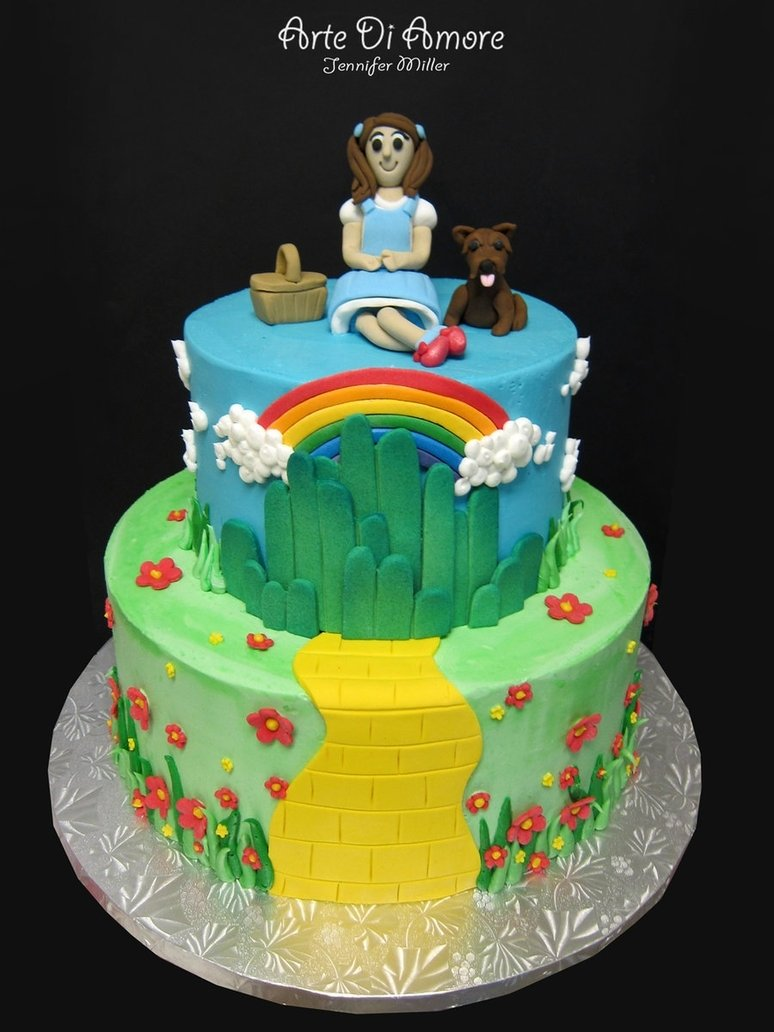 10 Pretty Wizard Of Oz Cake Ideas wizard of oz cakeartediamore on deviantart 2020