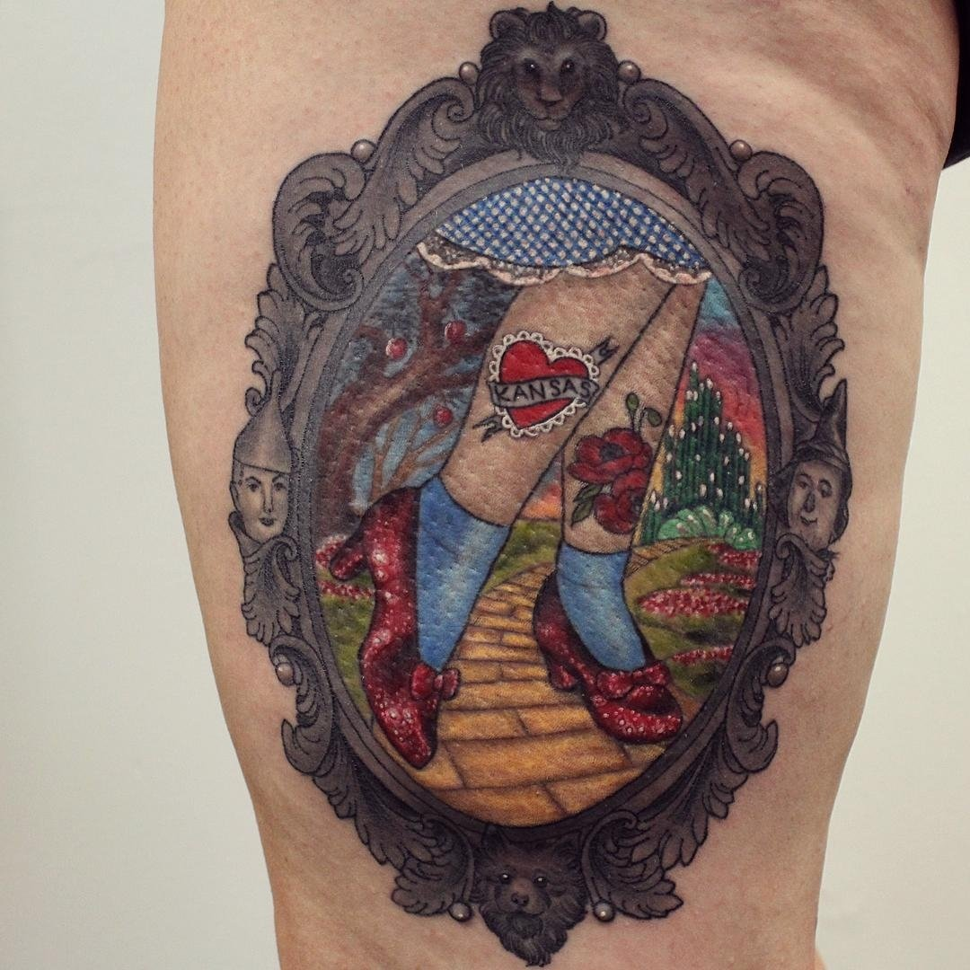 wizard of oz tattoo | best tattoo ideas gallery