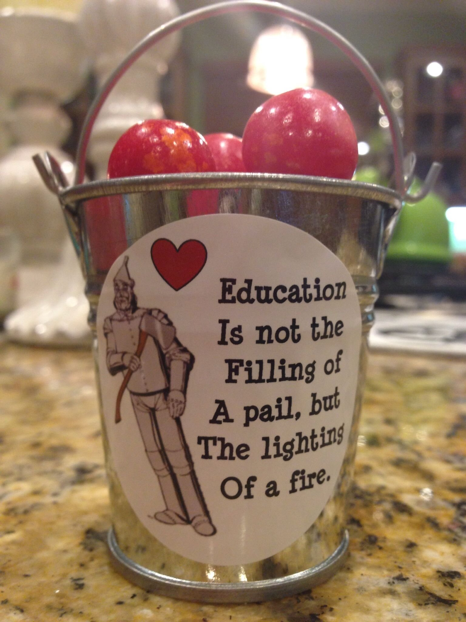10 Attractive Wizard Of Oz Gift Ideas wizard of oz tin man teacher appreciation gift with fire ball candy 2020