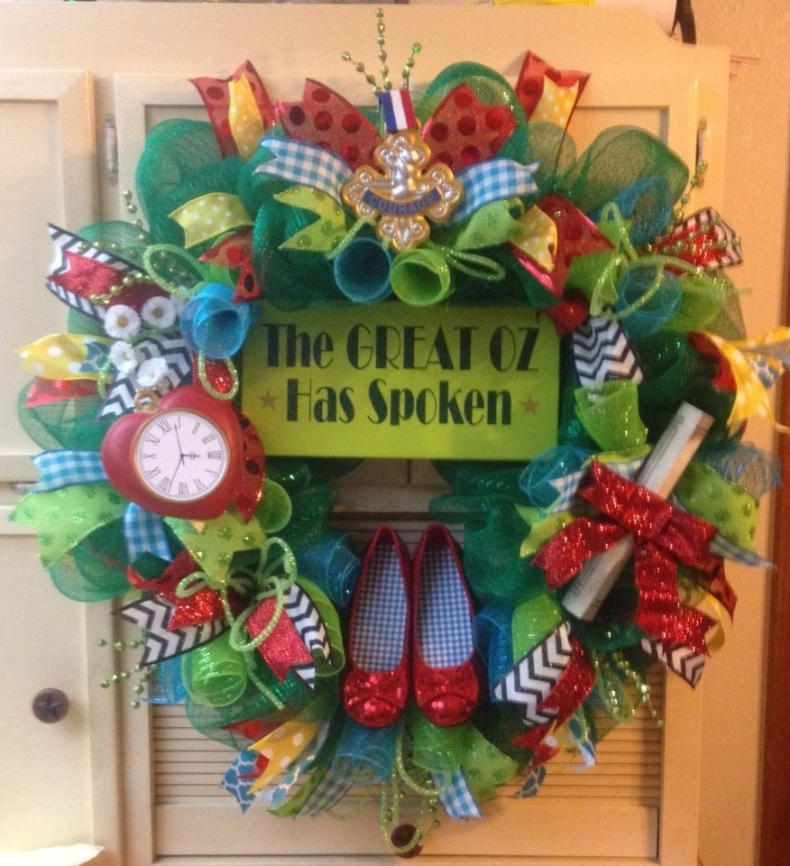 10 Attractive Wizard Of Oz Gift Ideas wizard of oz wreath for my classroom wizard of oz theme 2020