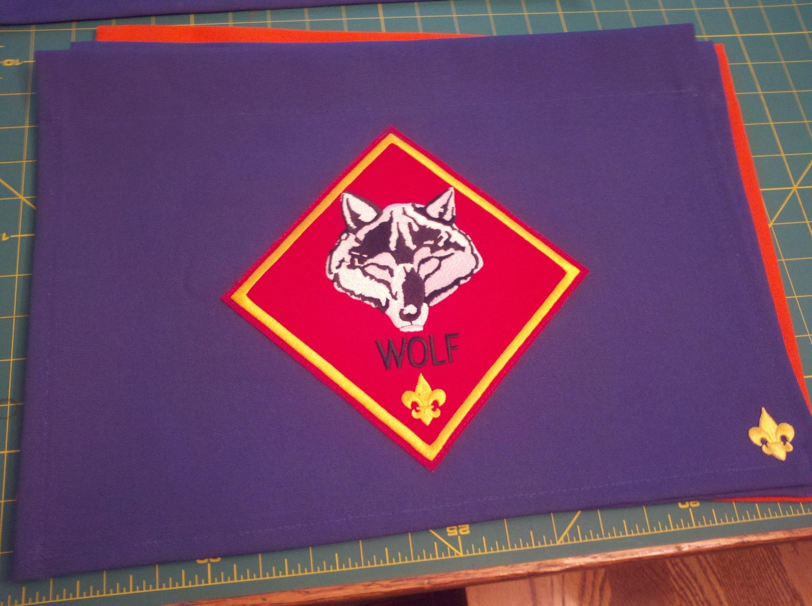 10 Pretty Cub Scout Den Flag Ideas wolf den flag cub scout den flags pinterest wolf den cub 2021