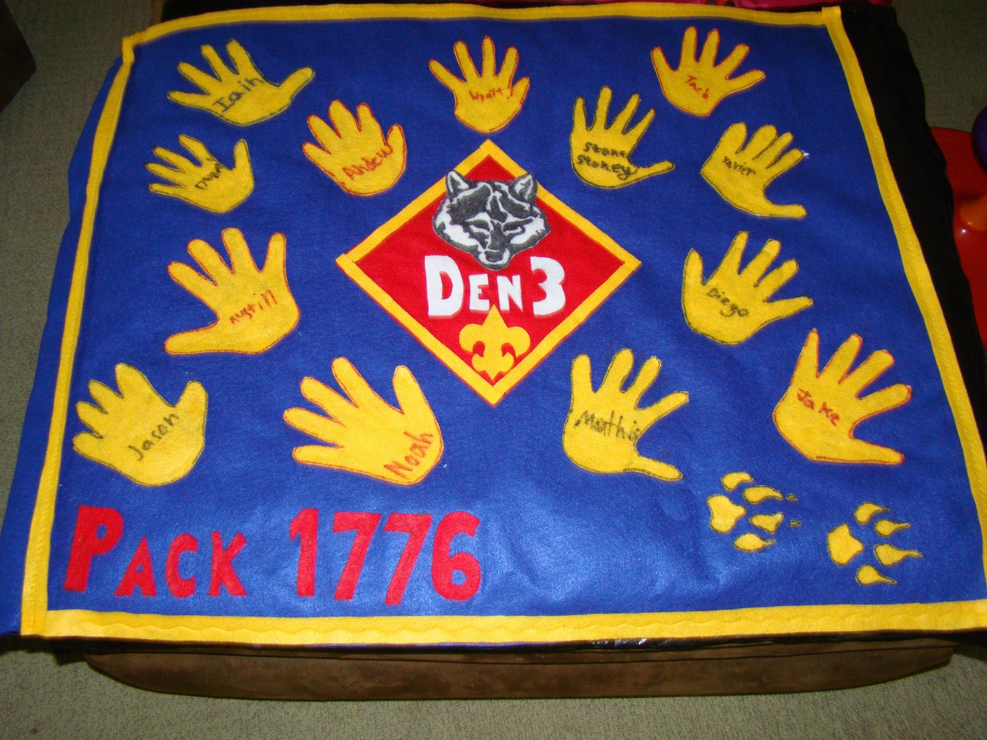 10 Pretty Cub Scout Den Flag Ideas wolf den flag things i have made tried done pinterest wolf den 2020