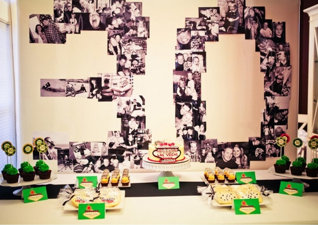 10 Amazing Ideas For 30Th Birthday For Him womans 30th birthday party ideas home party theme ideas
