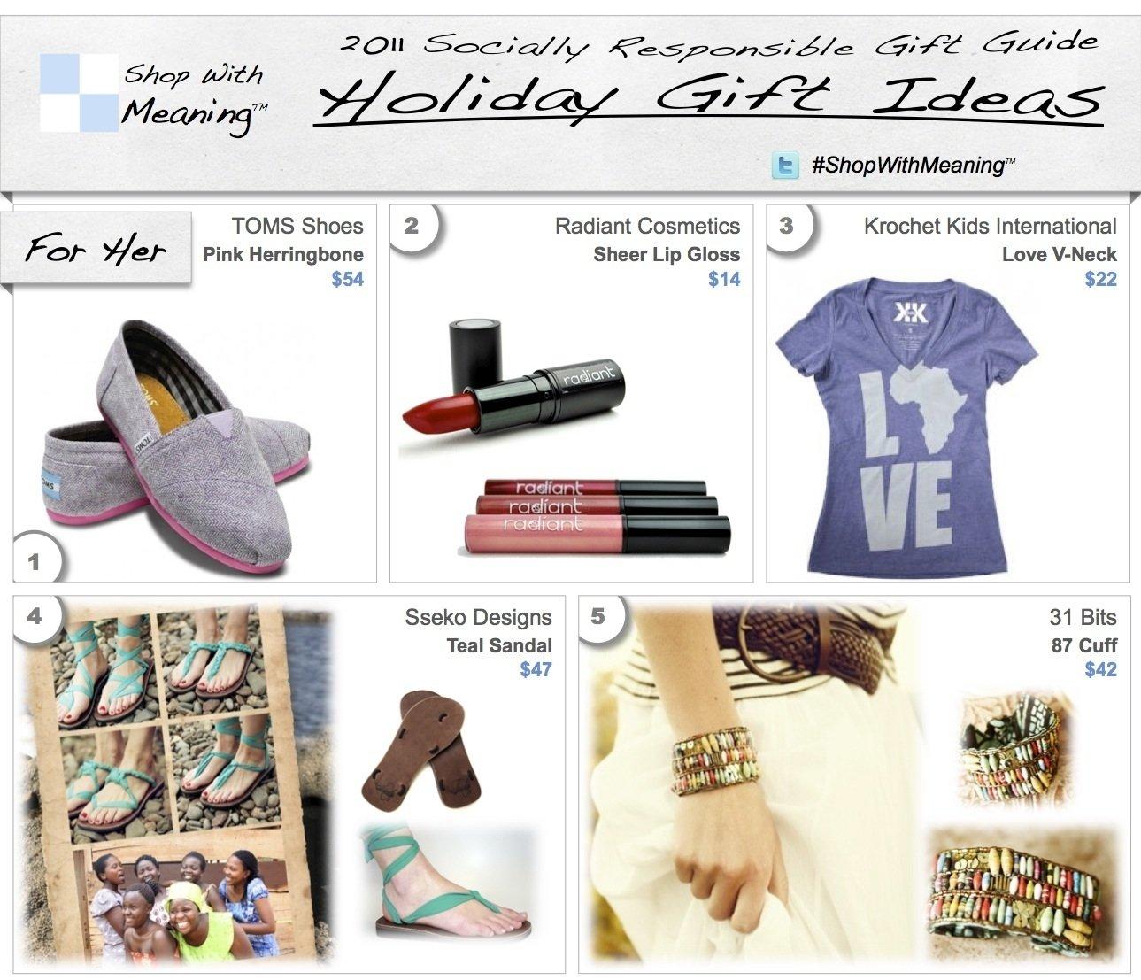 10 Great 2013 Gift Ideas For Women women gift ideas 1