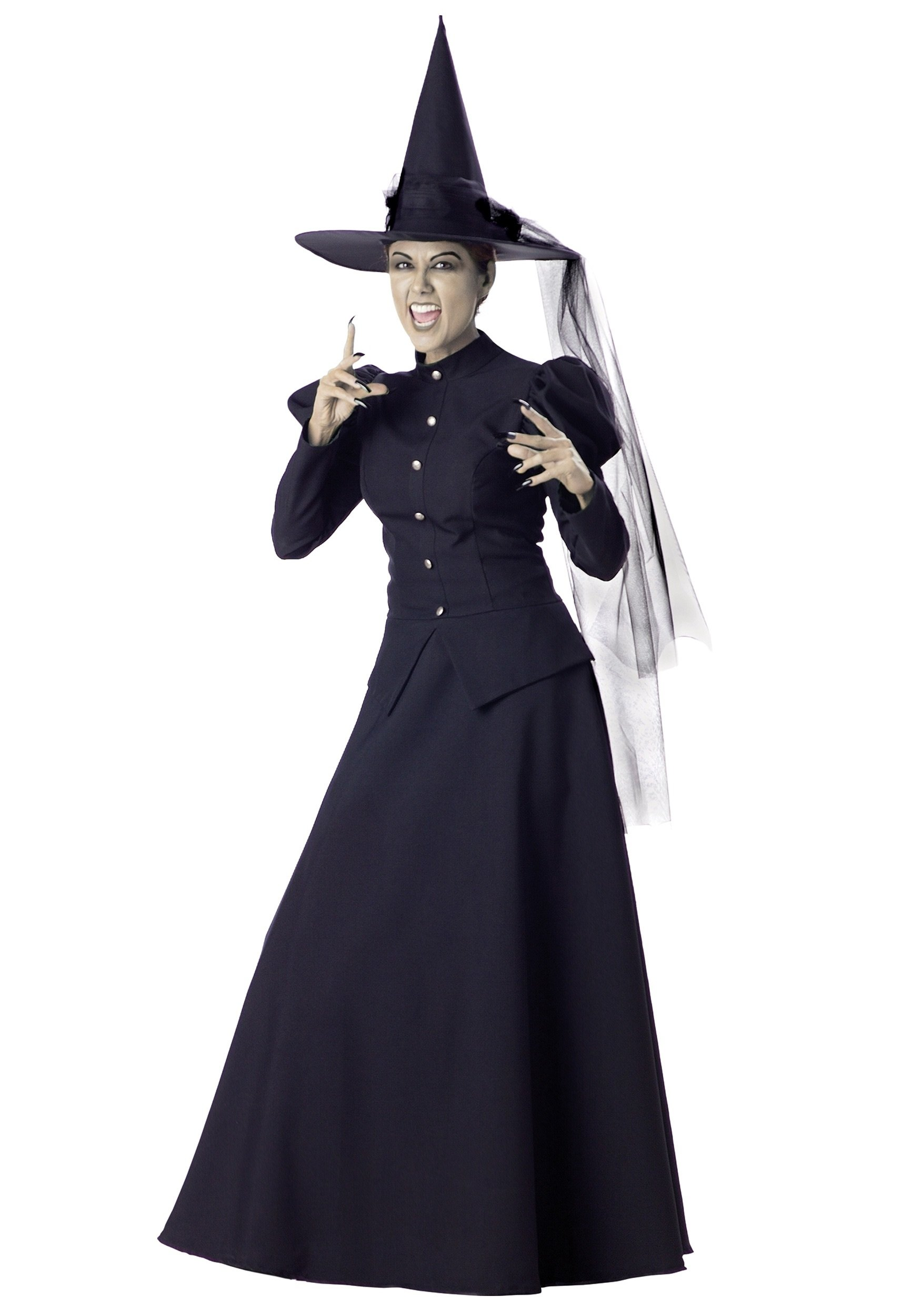 10 Wonderful Witch Costume Ideas For Women womens black witch costume 2020