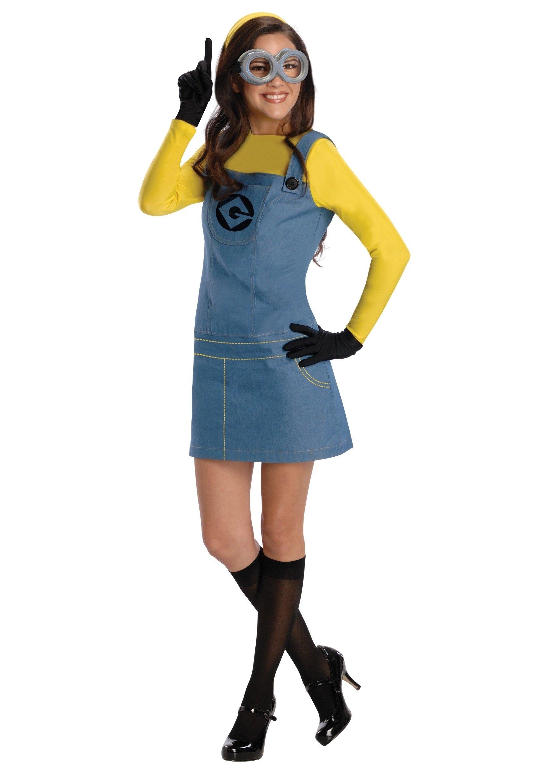 10 Stylish Movie Costume Ideas For Women womens female minion costume 2021