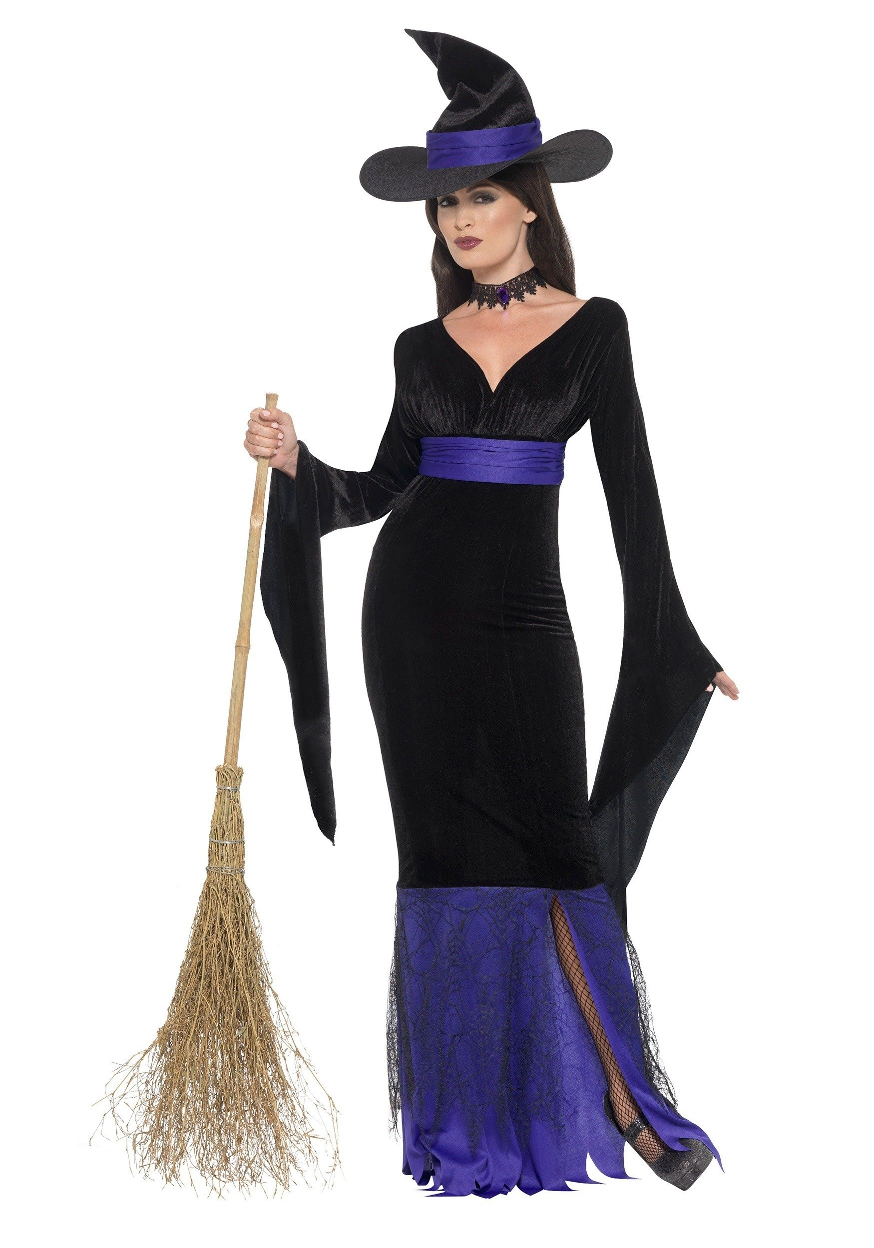 10 Wonderful Witch Costume Ideas For Women womens glamorous witch costume 2020