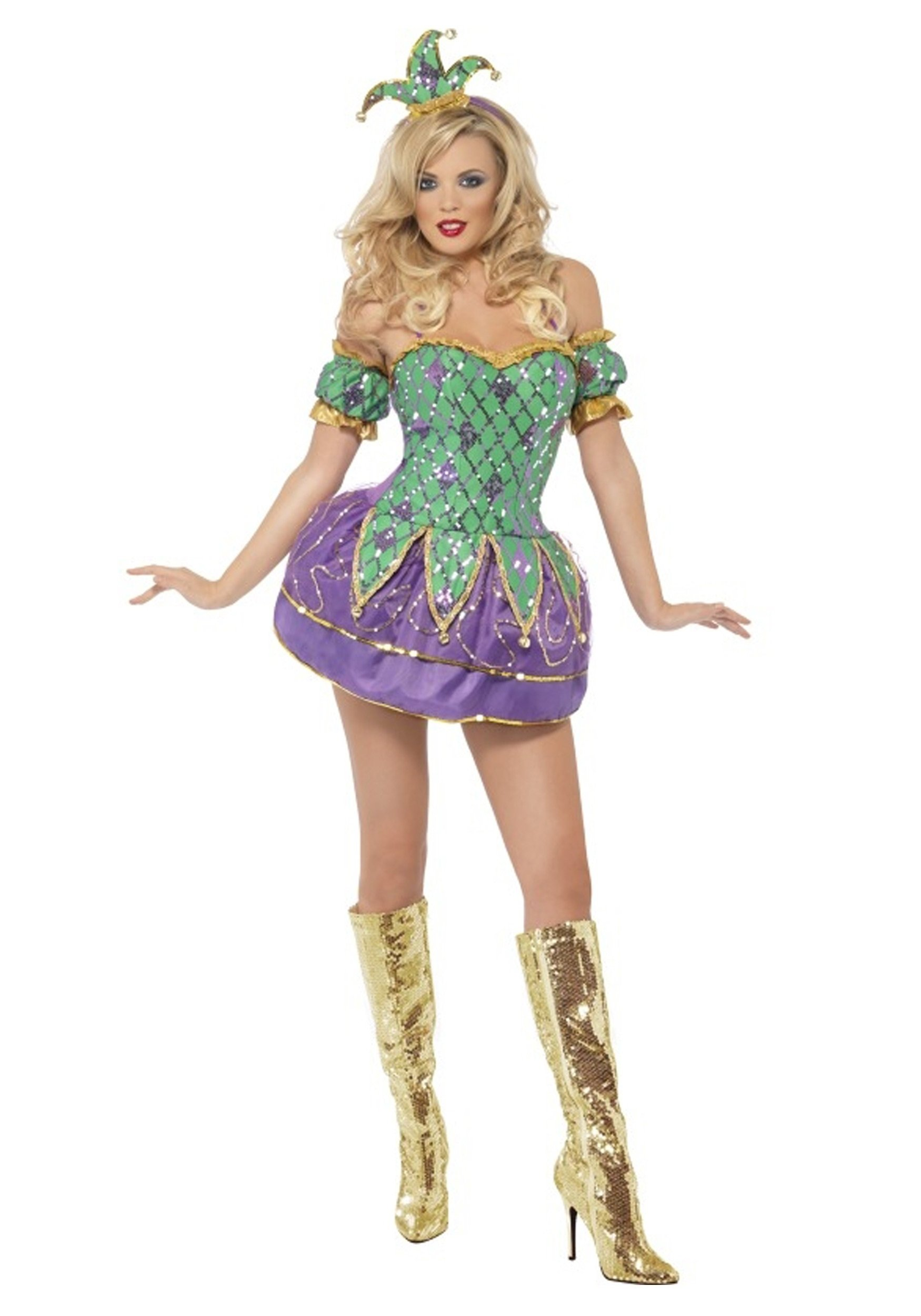 10 Awesome Mardi Gras Dress Up Ideas womens harlequin shine costume 2020
