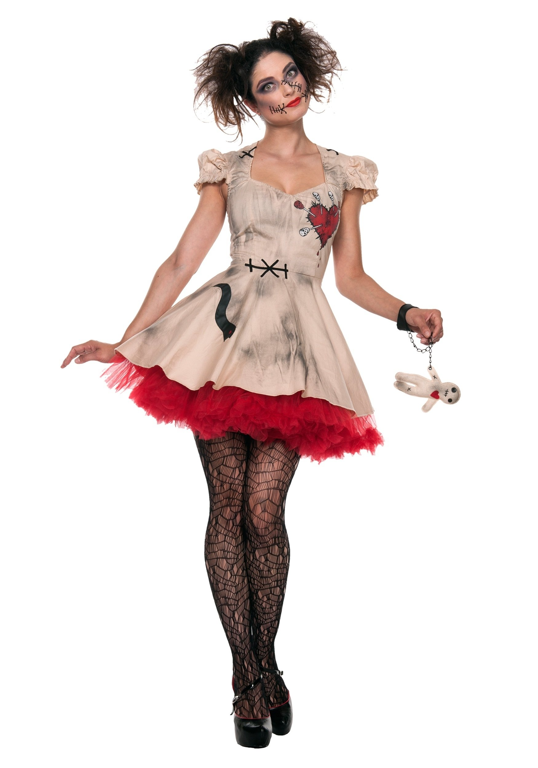 10 Stunning Halloween Costumes For Women Ideas womens plus size voodoo doll costume 3 2020