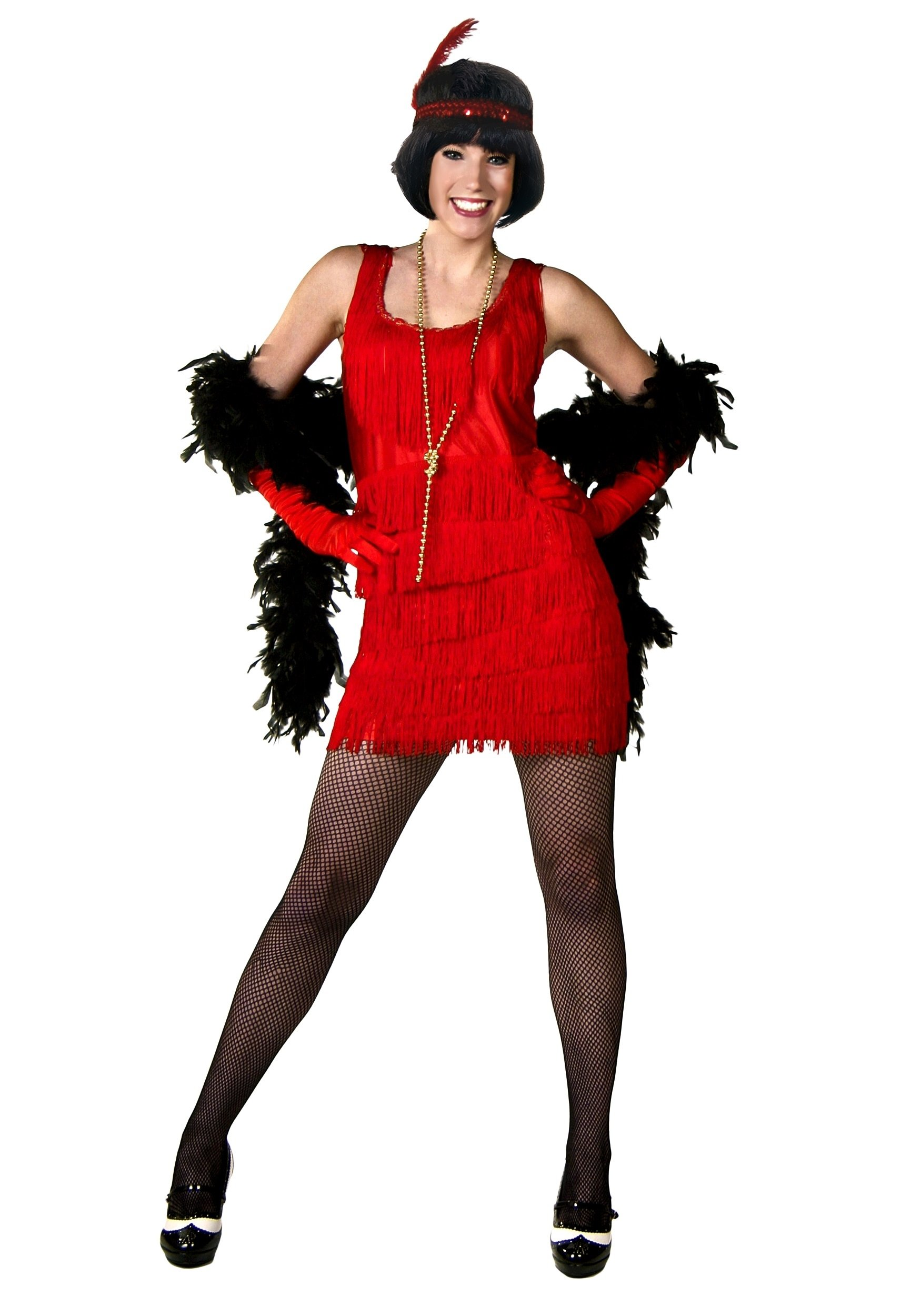 10 Gorgeous Red Dress Halloween Costume Ideas womens red plus size flapper costume flapper halloween costumes