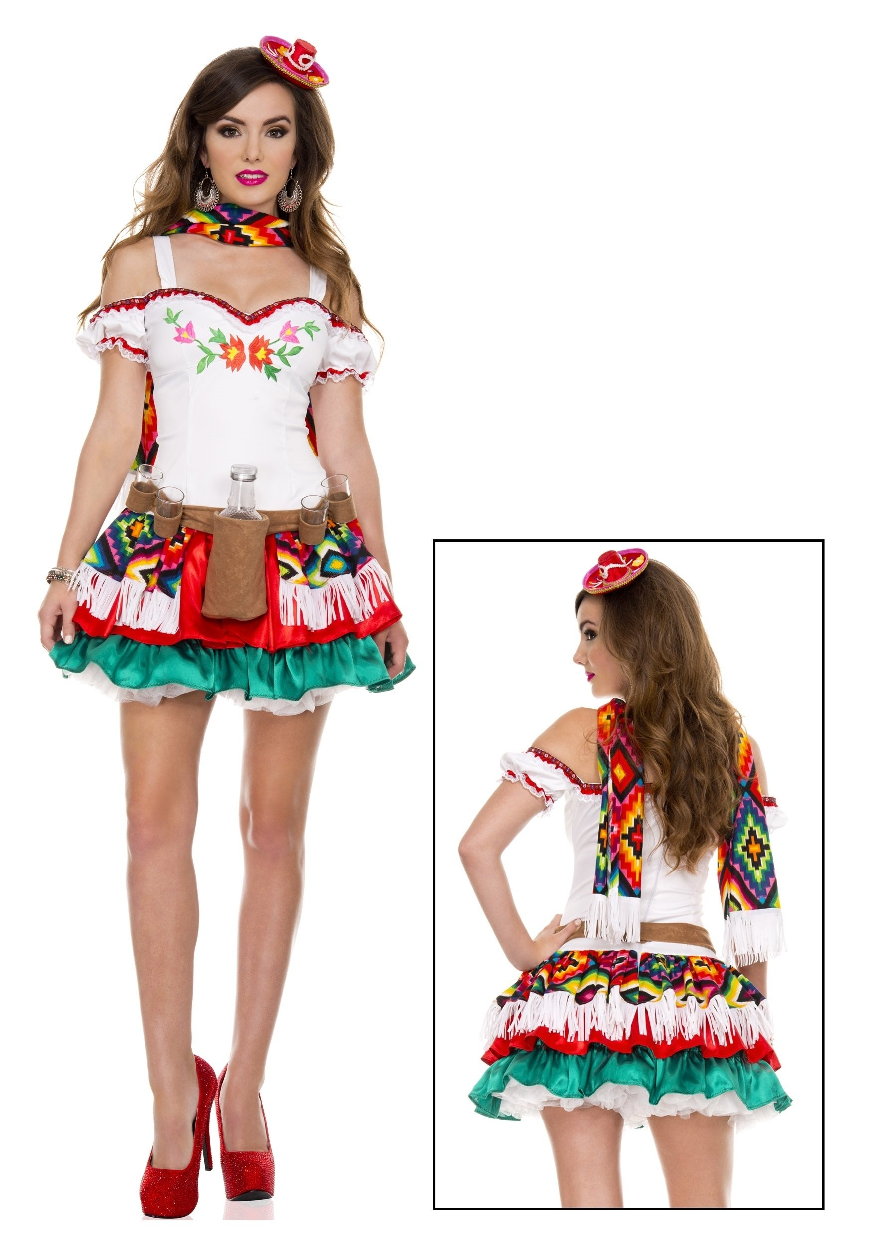 10 Attractive Cinco De Mayo Outfit Ideas womens tequila princess costume 2020