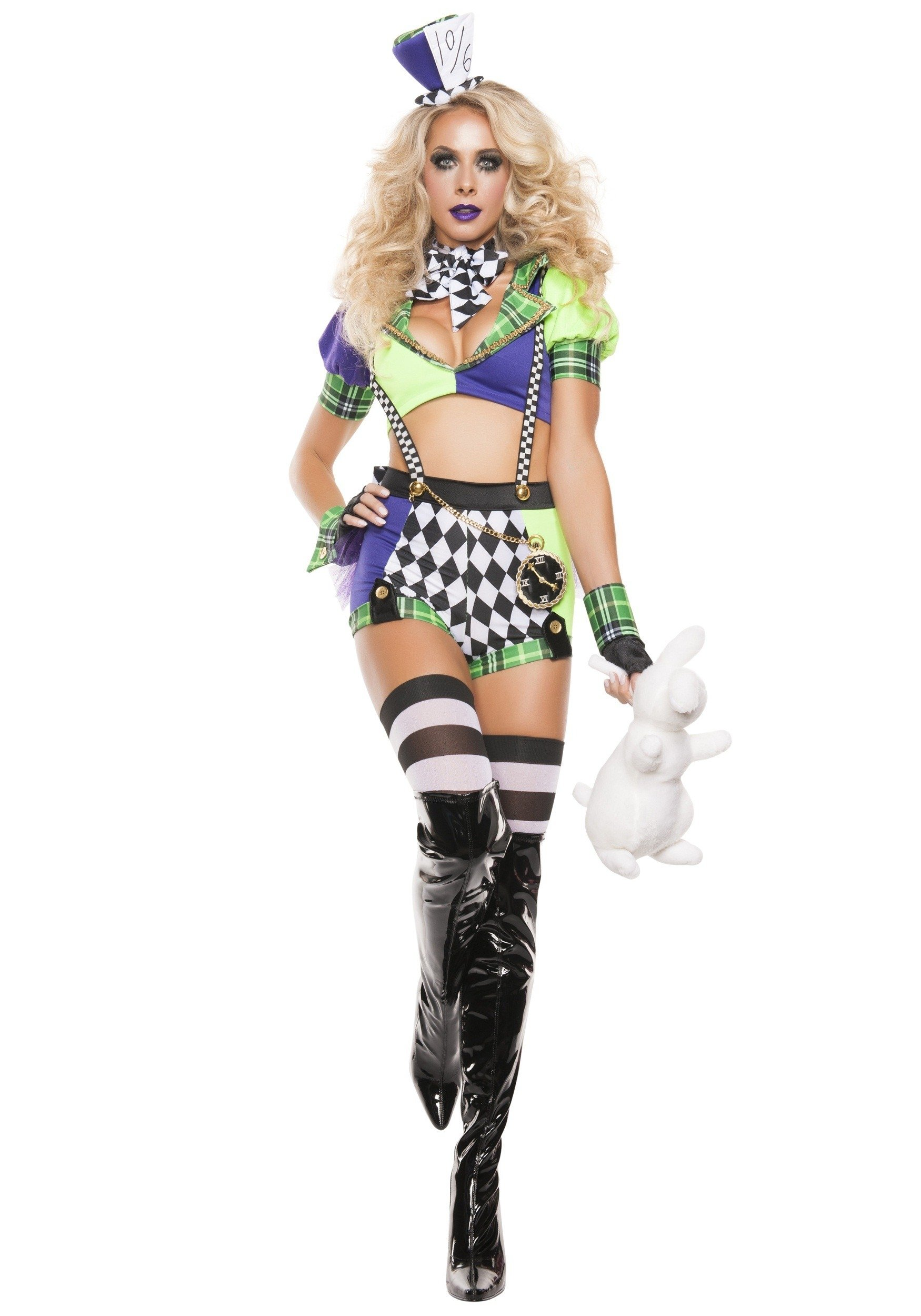 10 Perfect Female Mad Hatter Costume Ideas womens tipsy mad hatter costume 2020