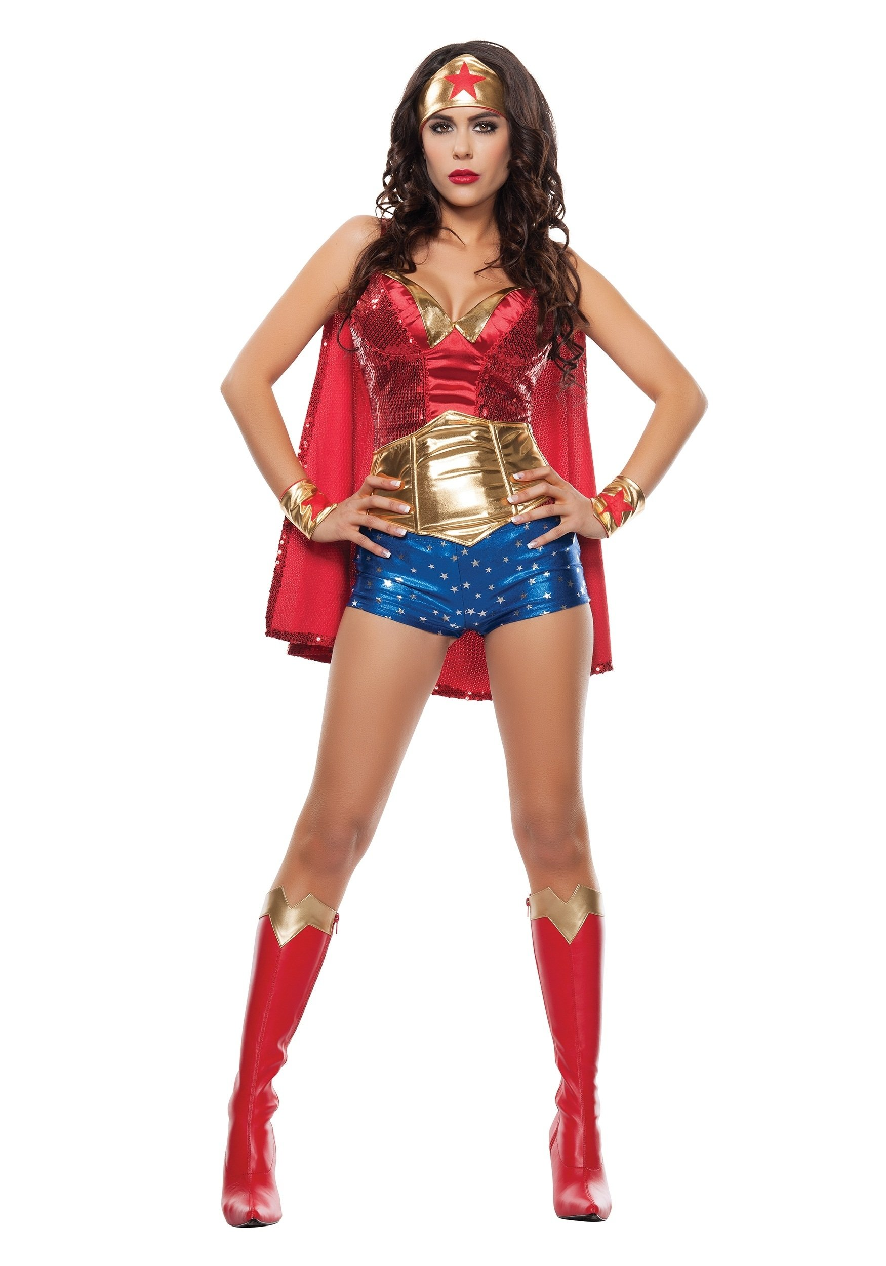 10 Wonderful Cheap Sexy Halloween Costume Ideas womens wonder lady costume 2020