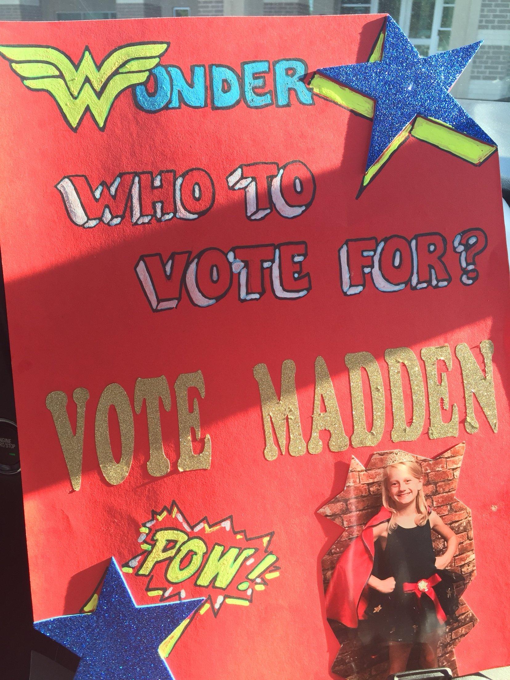 10 Attractive 5Th Grade Student Council Ideas wonder woman student council poster student council pinterest 2020