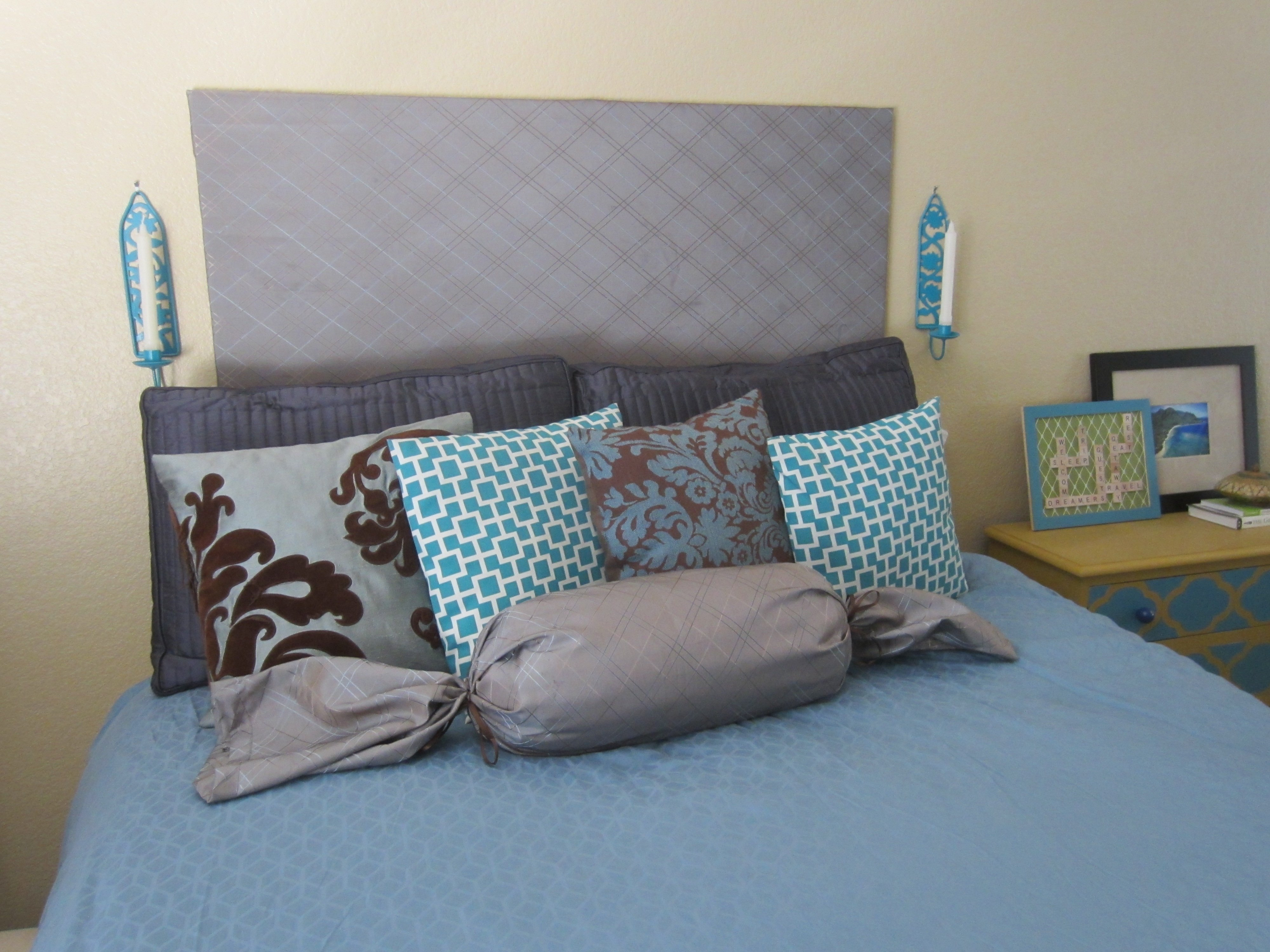 wonderful diy cheap wood headboard photo ideas - amys office