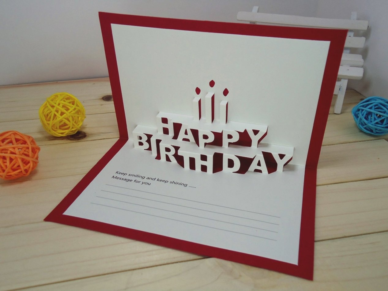 10 Stylish Good Ideas For Birthday Cards wonderful of good birthday card ideas drawing how to make a for 2020