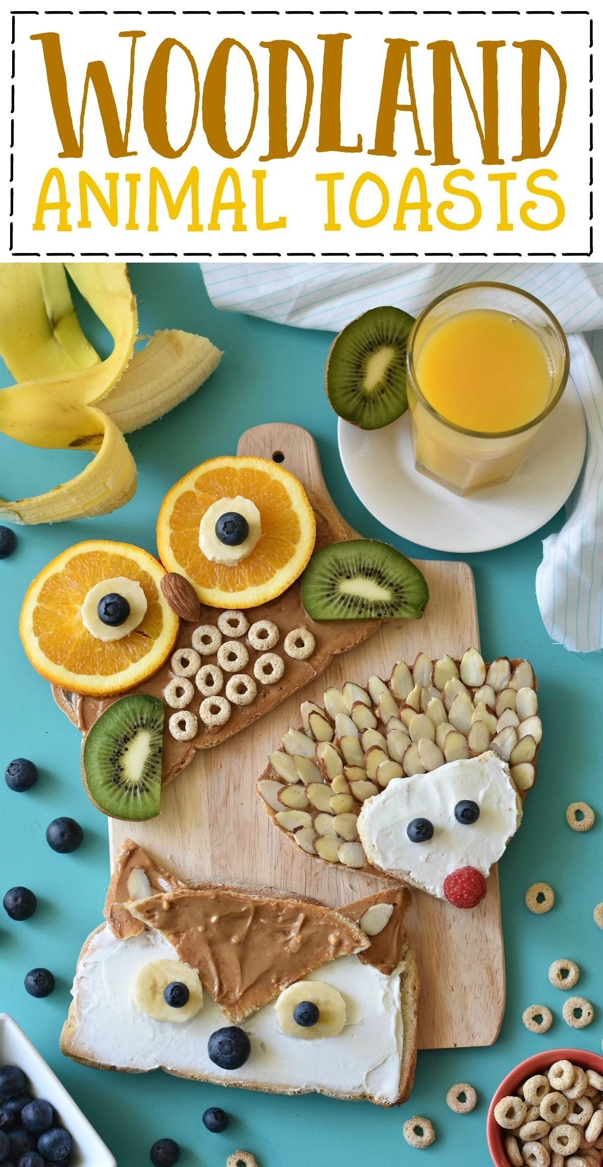 10 Great Gluten Free Breakfast Ideas For Kids woodland animal toast woodland animals hedgehogs and gluten free 2020
