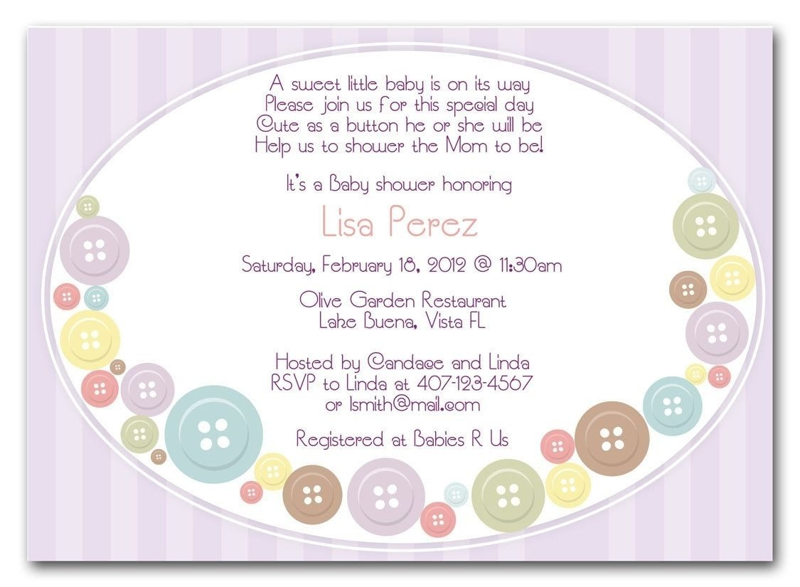 10 Attractive Invitation Ideas For Baby Shower wording for a floating baby shower invitation http atwebry 2020