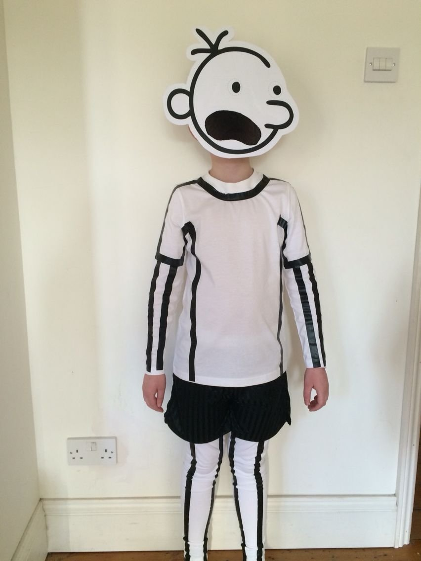 10 Gorgeous Diary Of A Wimpy Kid Costume Ideas world book day diary of a wimpy kid home made costume 2020