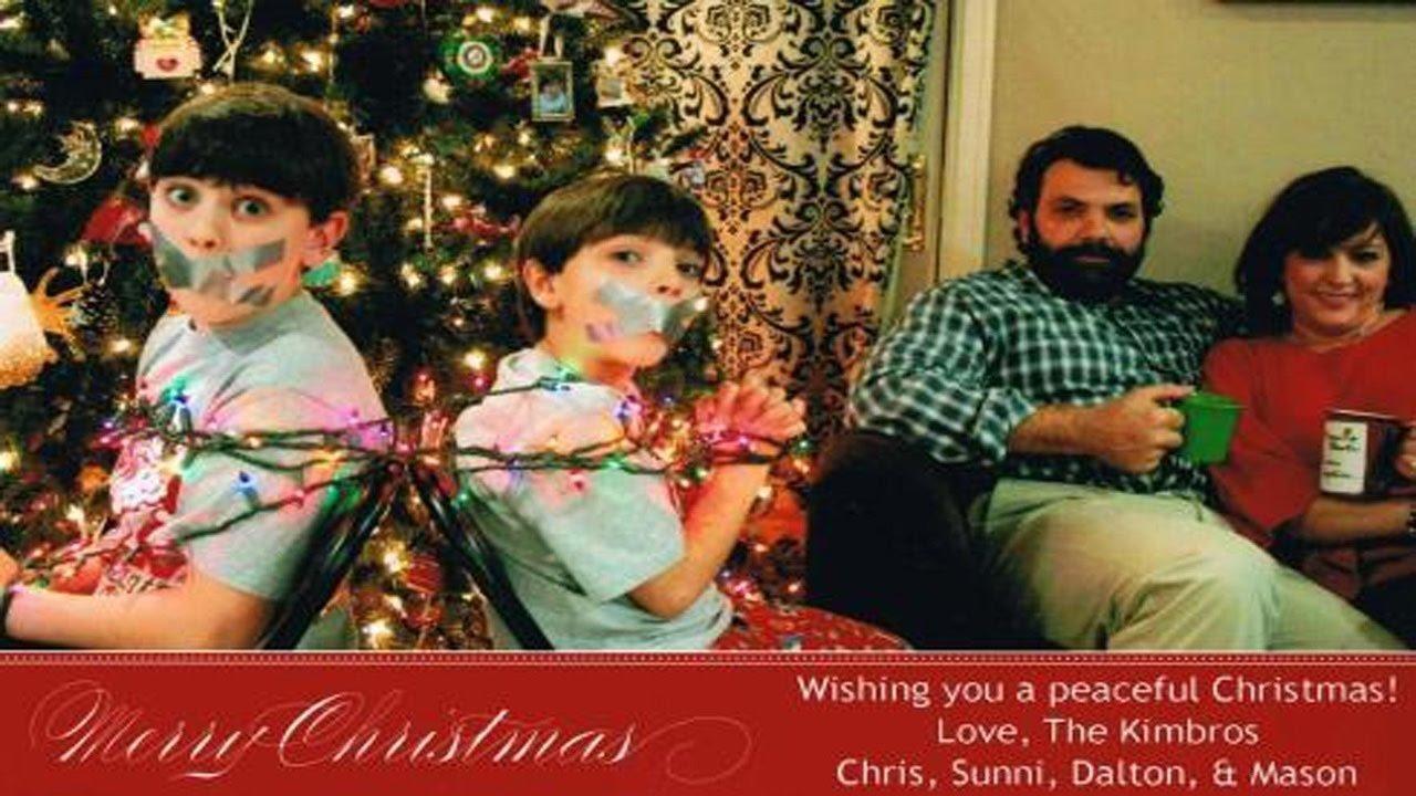 10 Elegant Funny Couple Christmas Card Ideas worst christmas card ideas ever 2 youtube 2