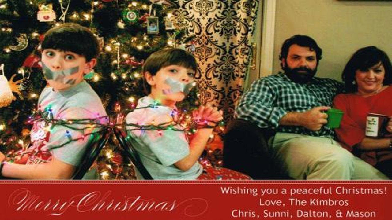 10 Perfect Funny Christmas Card Picture Ideas worst christmas card ideas ever 2 youtube 2020