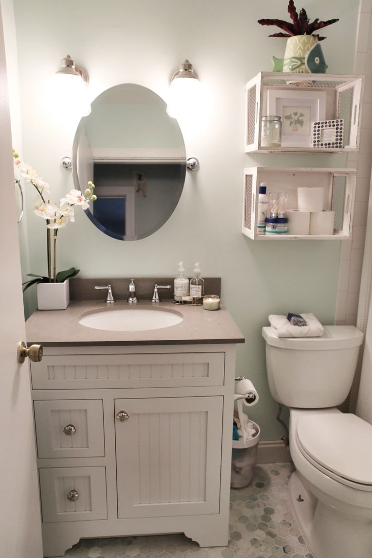 10 Lovely Ideas For A Small Bathroom wow small bathroom decorating ideas 85 for home design ideas for 1