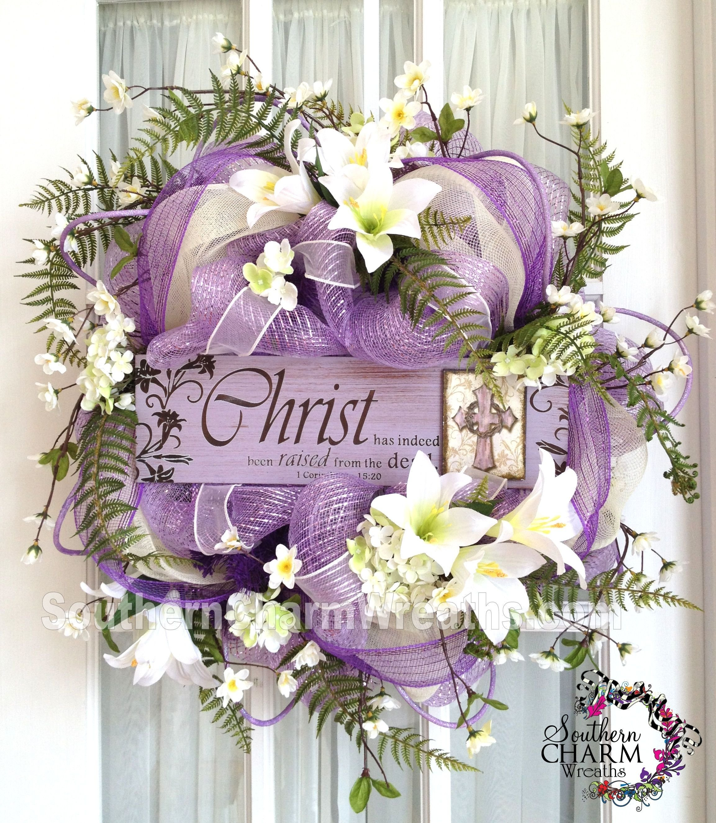 10 Cute Easter Deco Mesh Wreath Ideas wreath shop setup southerncharmwreaths boxes wreaths easter and craft