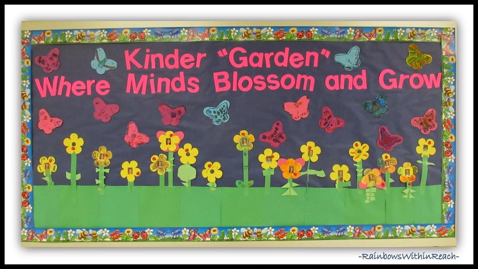 10 Gorgeous Bulletin Board Ideas For Kindergarten www rainbowswithinreach blogspot 14 2020