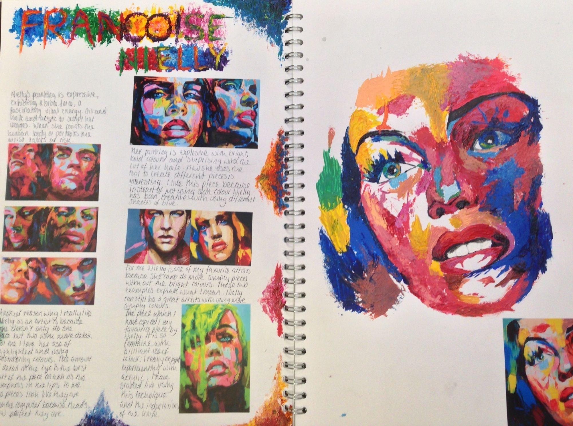 10 Stunning Sketchbook Ideas For Middle School y10 gcse portfolio project st marys catholic high school 2020