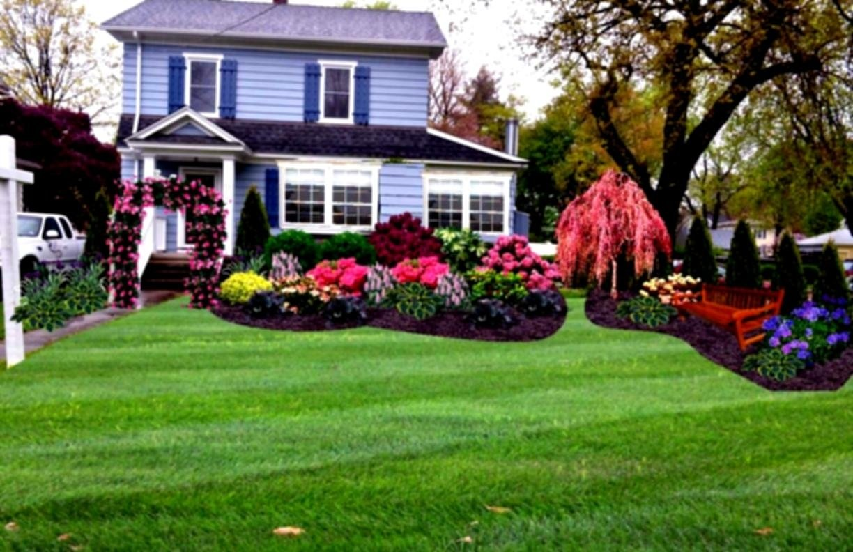 10 Spectacular Front Yard Flower Bed Ideas yard flower bed designs home design landscaping ideas beds garden 2020