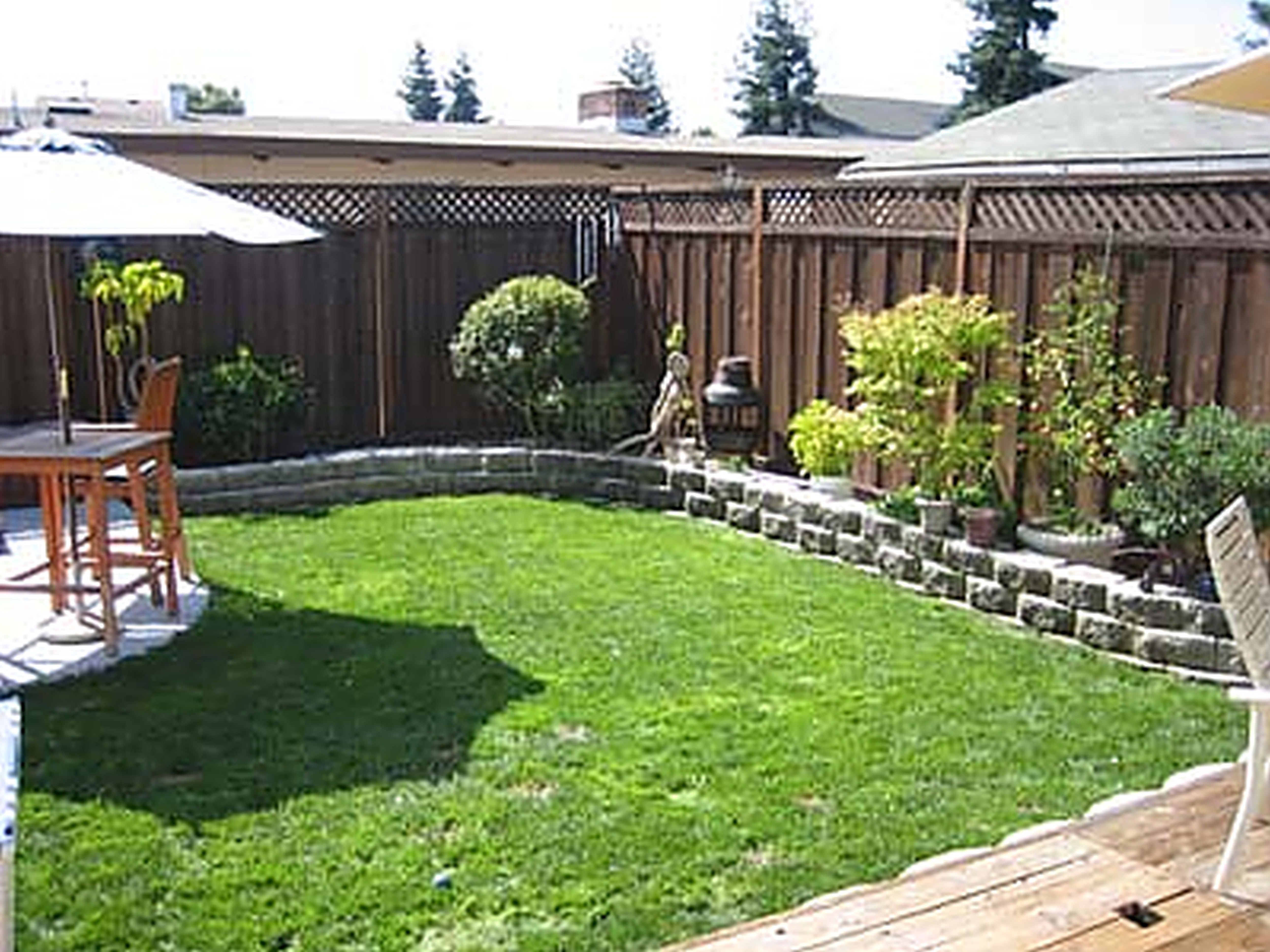 10 Lovable Backyard Design Ideas On A Budget yard landscaping ideas on a budget small backyard landscape cheap 1 2020