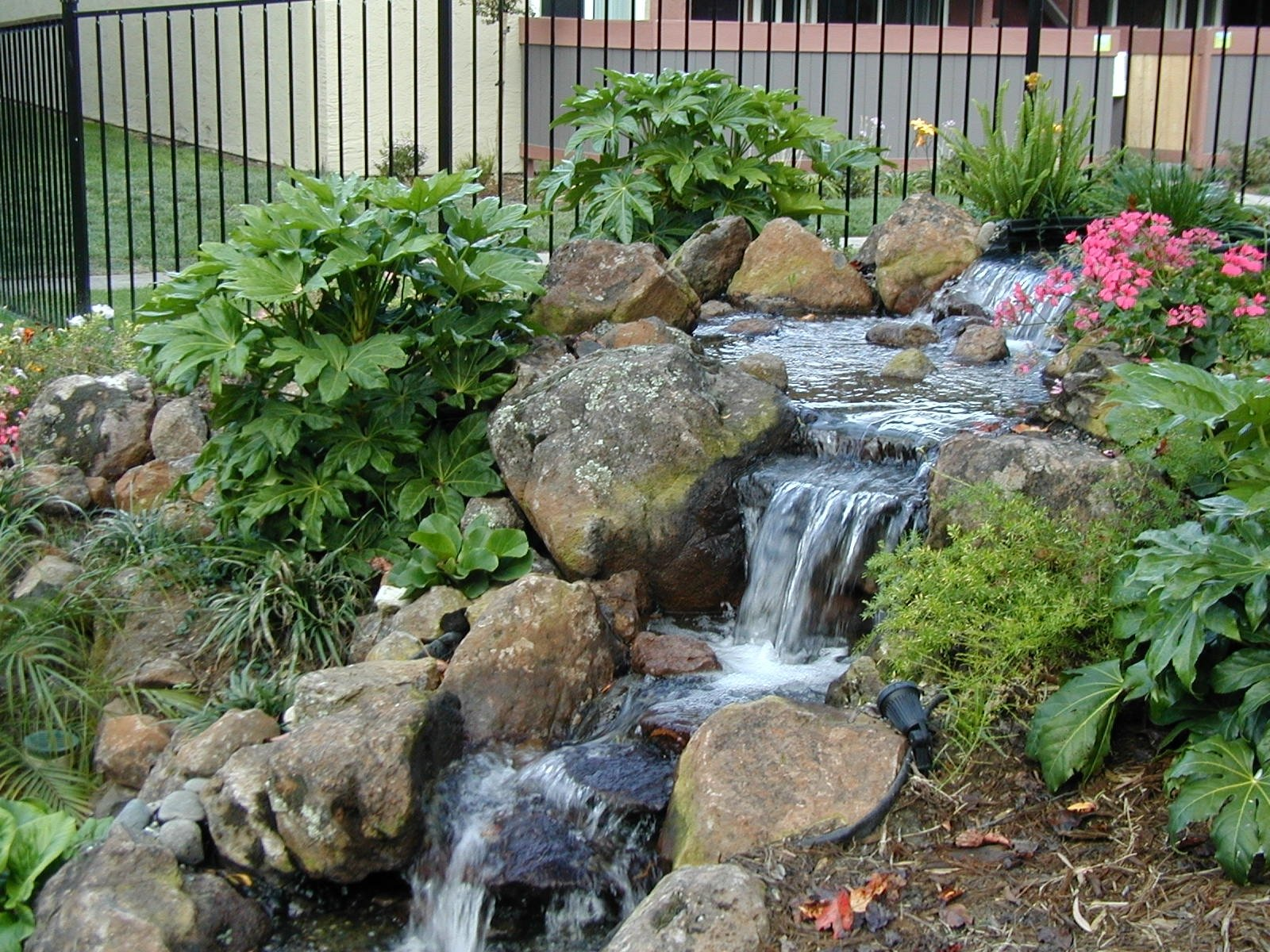10 Perfect Water Feature Ideas For Small Gardens yard water features comely small backyard feature ideas amys office 2020