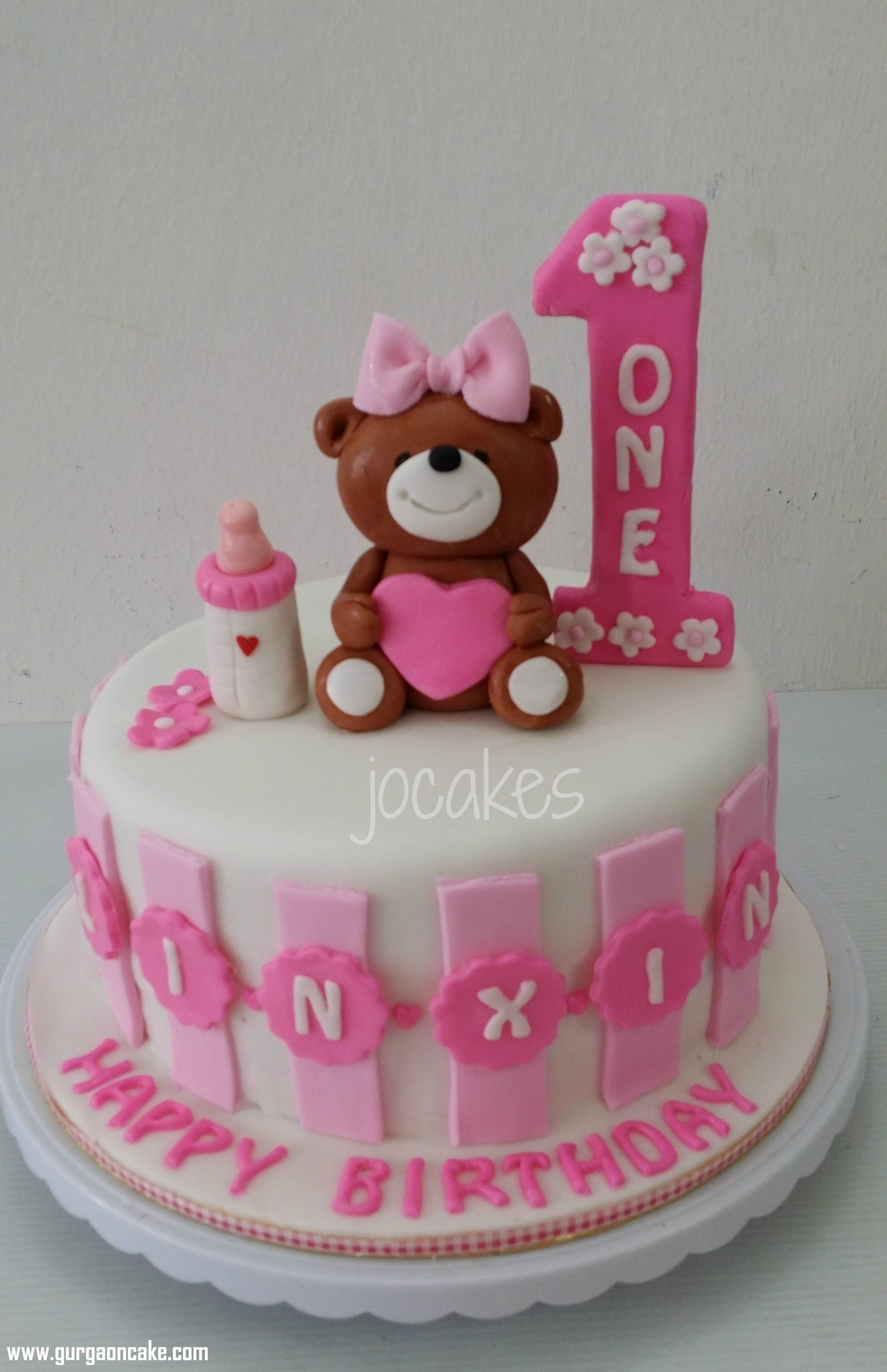 10 Famous 1 Year Old Birthday Cake Ideas