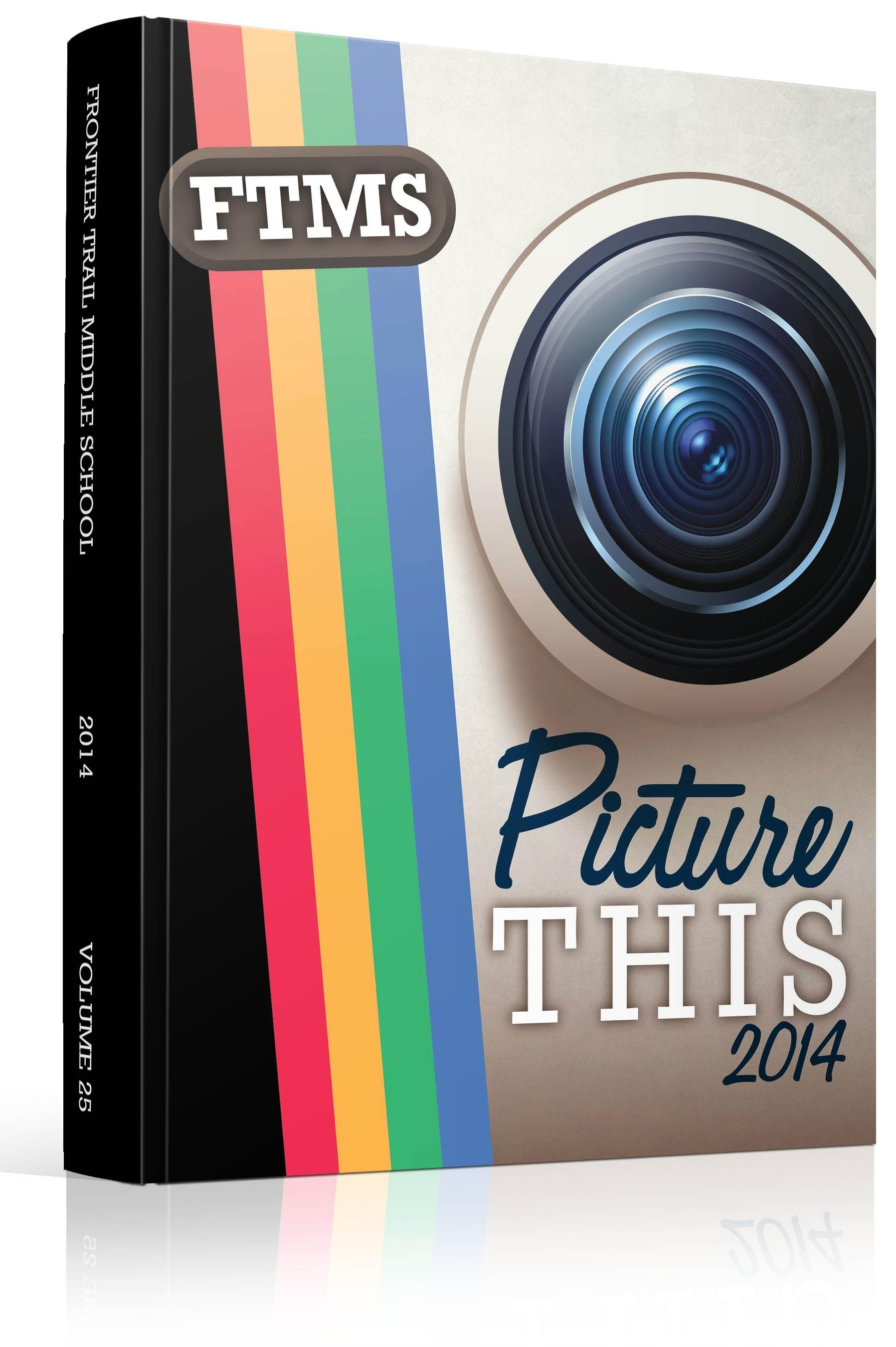 10 Fabulous Yearbook Ideas For Middle School yearbook cover frontier trail middle school picture this theme 2020