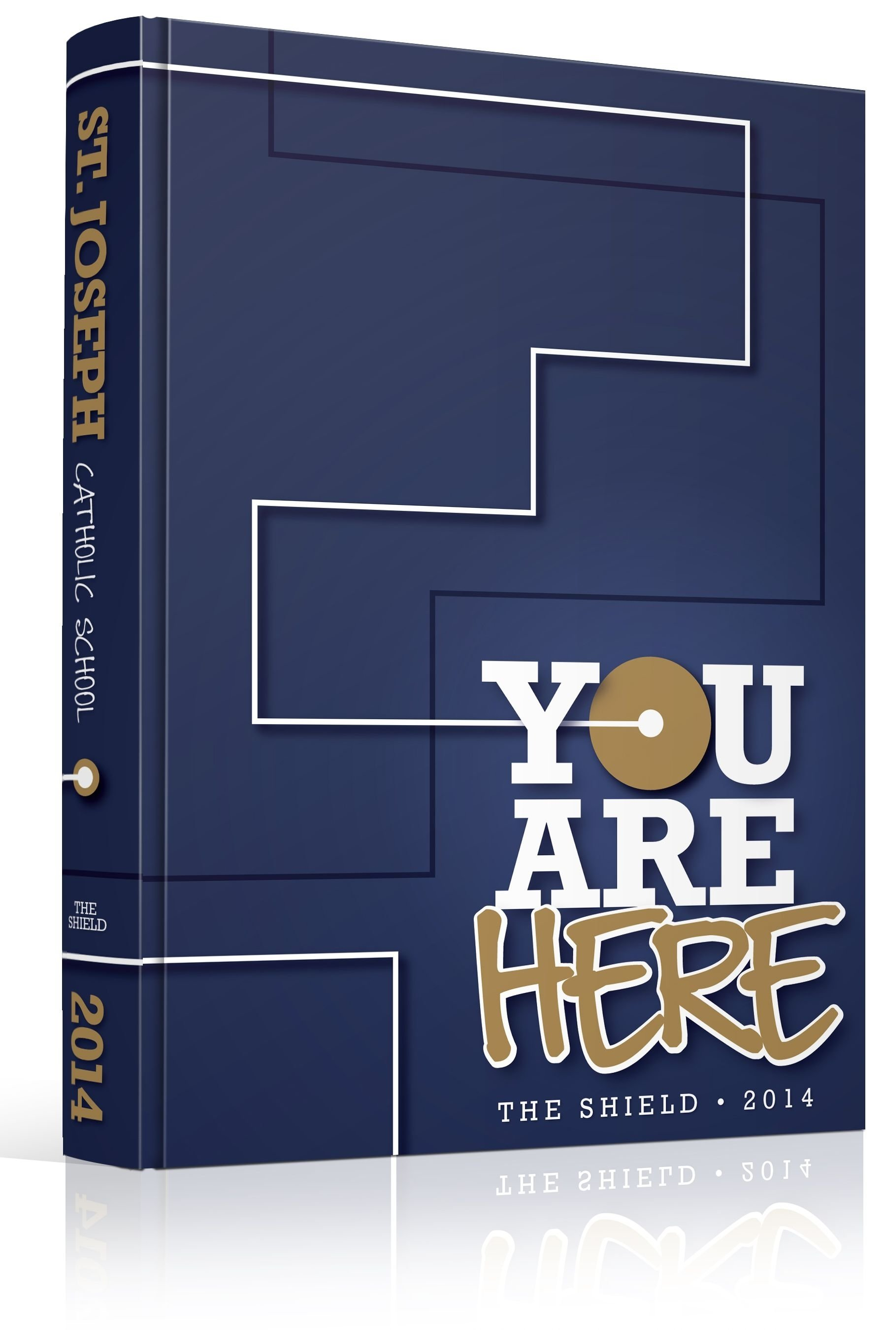10 Fabulous Yearbook Ideas For Middle School yearbook cover st joseph catholic school you are here theme 2020