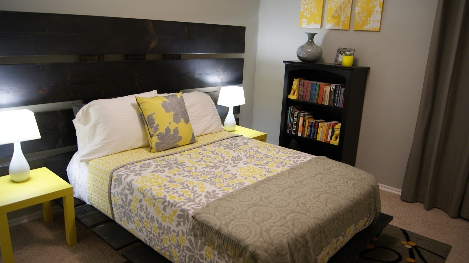 10 Attractive Yellow And Gray Bedroom Ideas yellow and gray bedroom ideas deboto home design ikea gray 2020