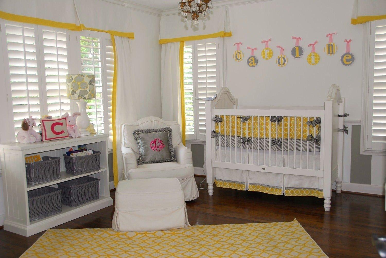 10 Fashionable Yellow And Gray Nursery Ideas yellow and grey baby nursery nursery babies and room 2020