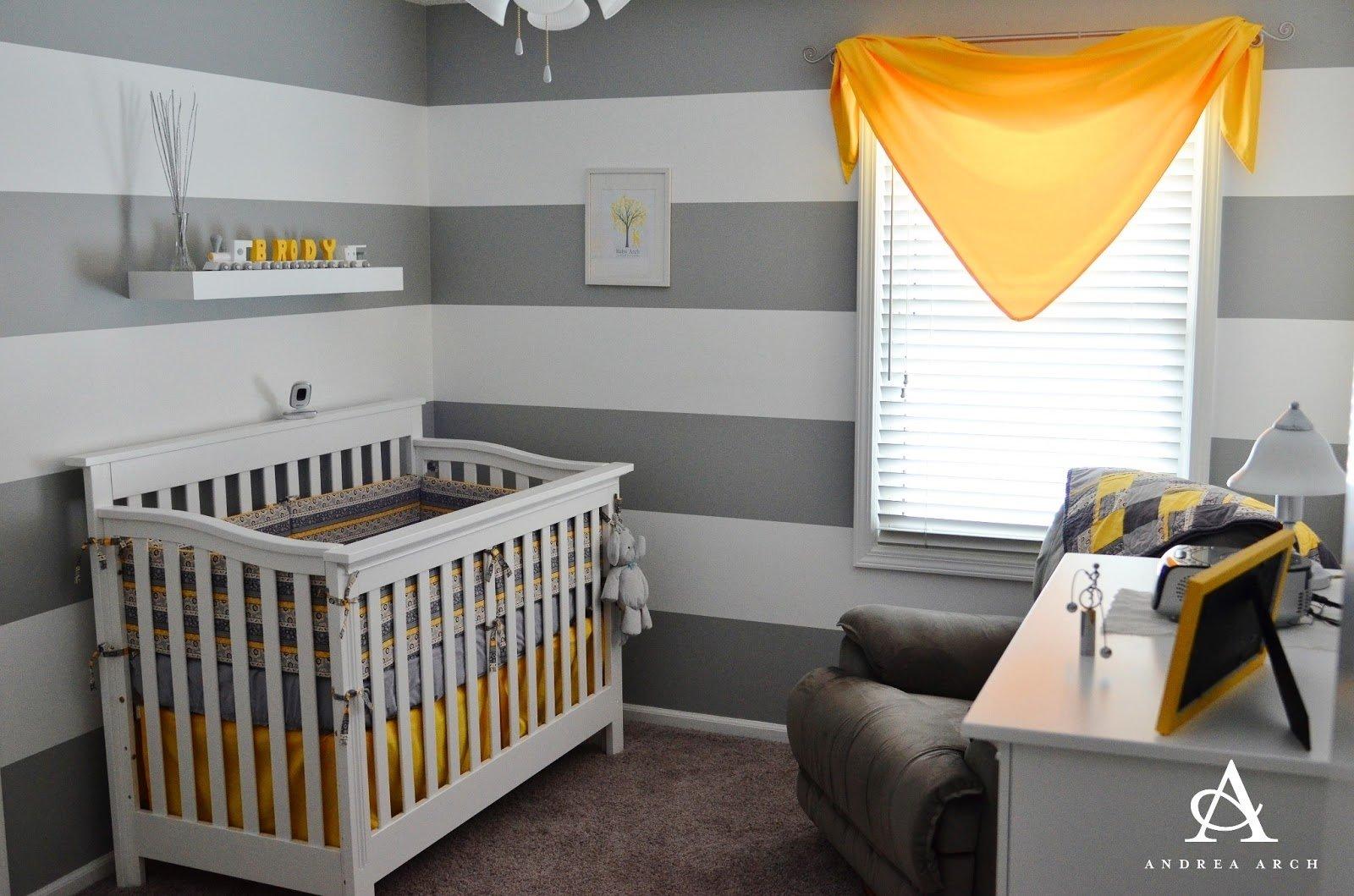 10 Fashionable Yellow And Gray Nursery Ideas yellow grey gender neutral nursery project nursery 2020