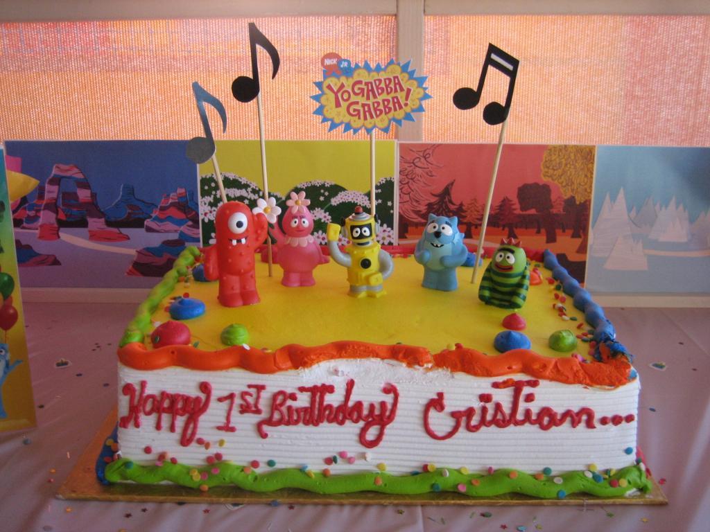 10 Gorgeous Yo Gabba Gabba Cakes Ideas yo gabba gabba birthday cake ideas fun factory parties 2020
