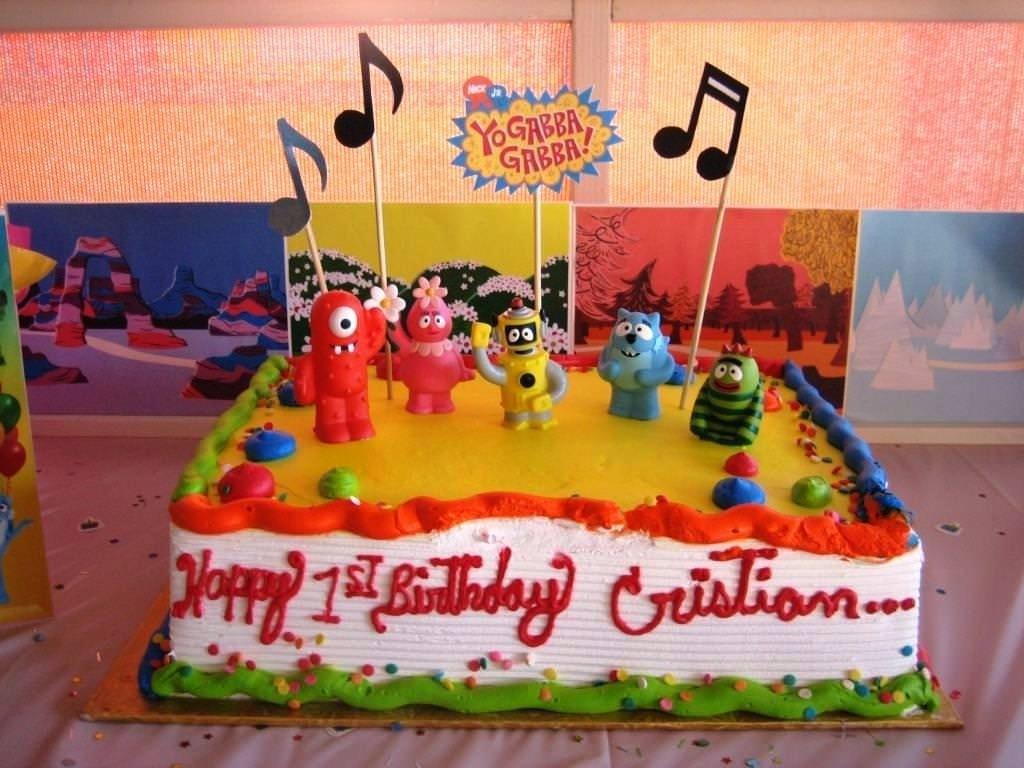 10 Attractive Yo Gabba Gabba Birthday Ideas yo gabba gabba birthday cakes find the supplies ideas protoblogr