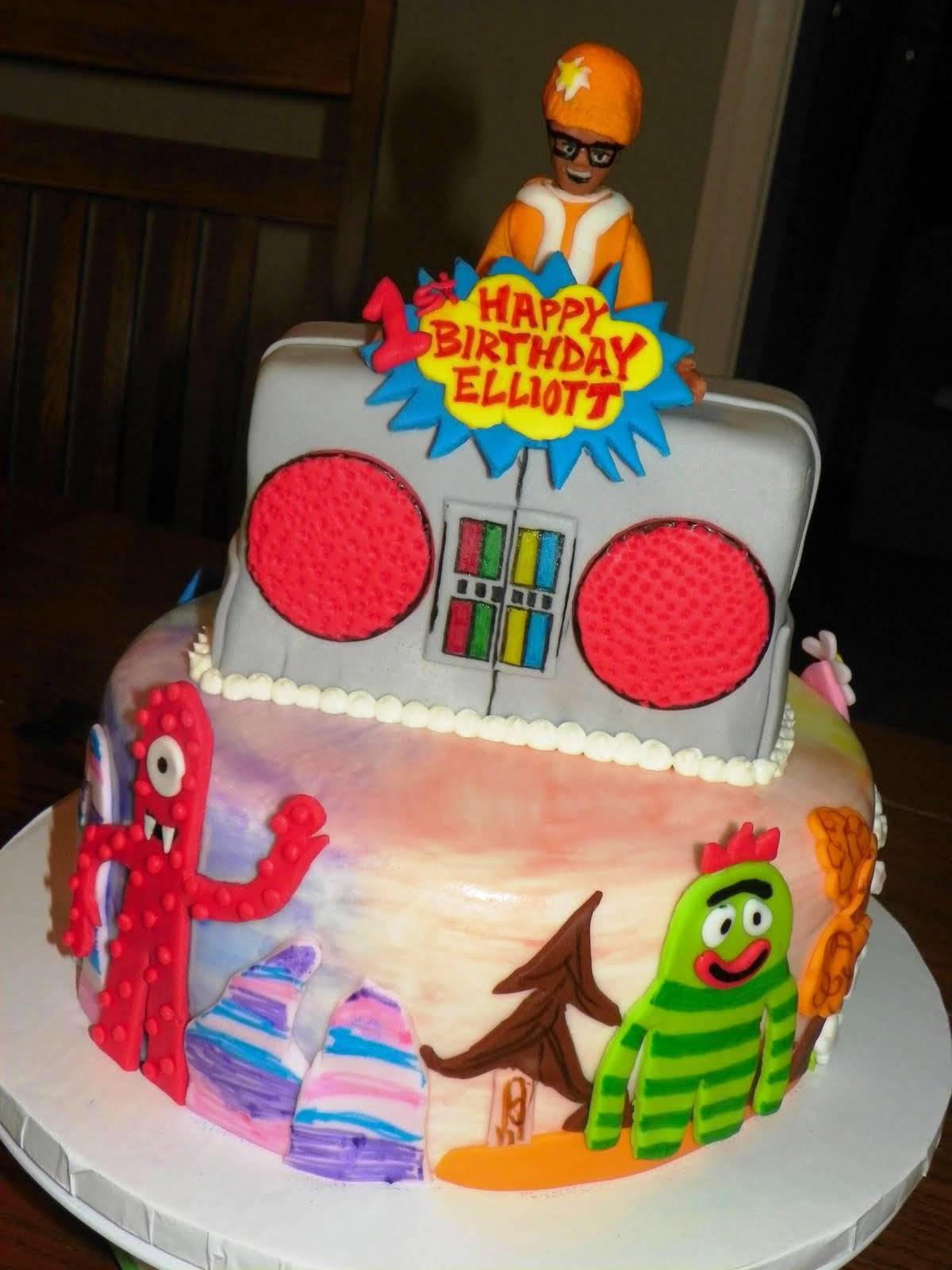 10 Gorgeous Yo Gabba Gabba Cakes Ideas yo gabba gabba birthday cakes find the supplies ideas urban dog 2020