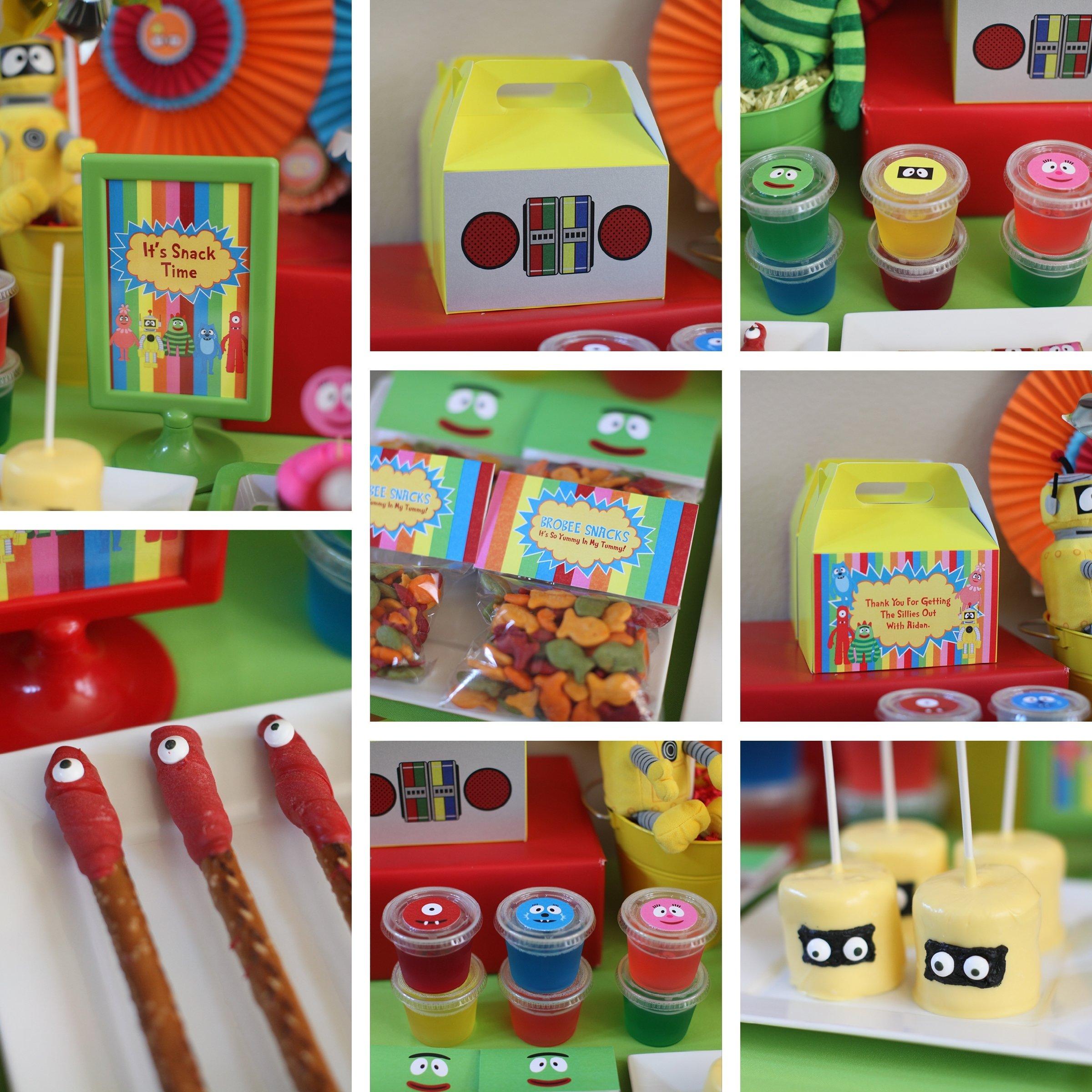 10 Attractive Yo Gabba Gabba Birthday Ideas yo gabba gabba birthday party aidan turns 3 creative vision blog 1