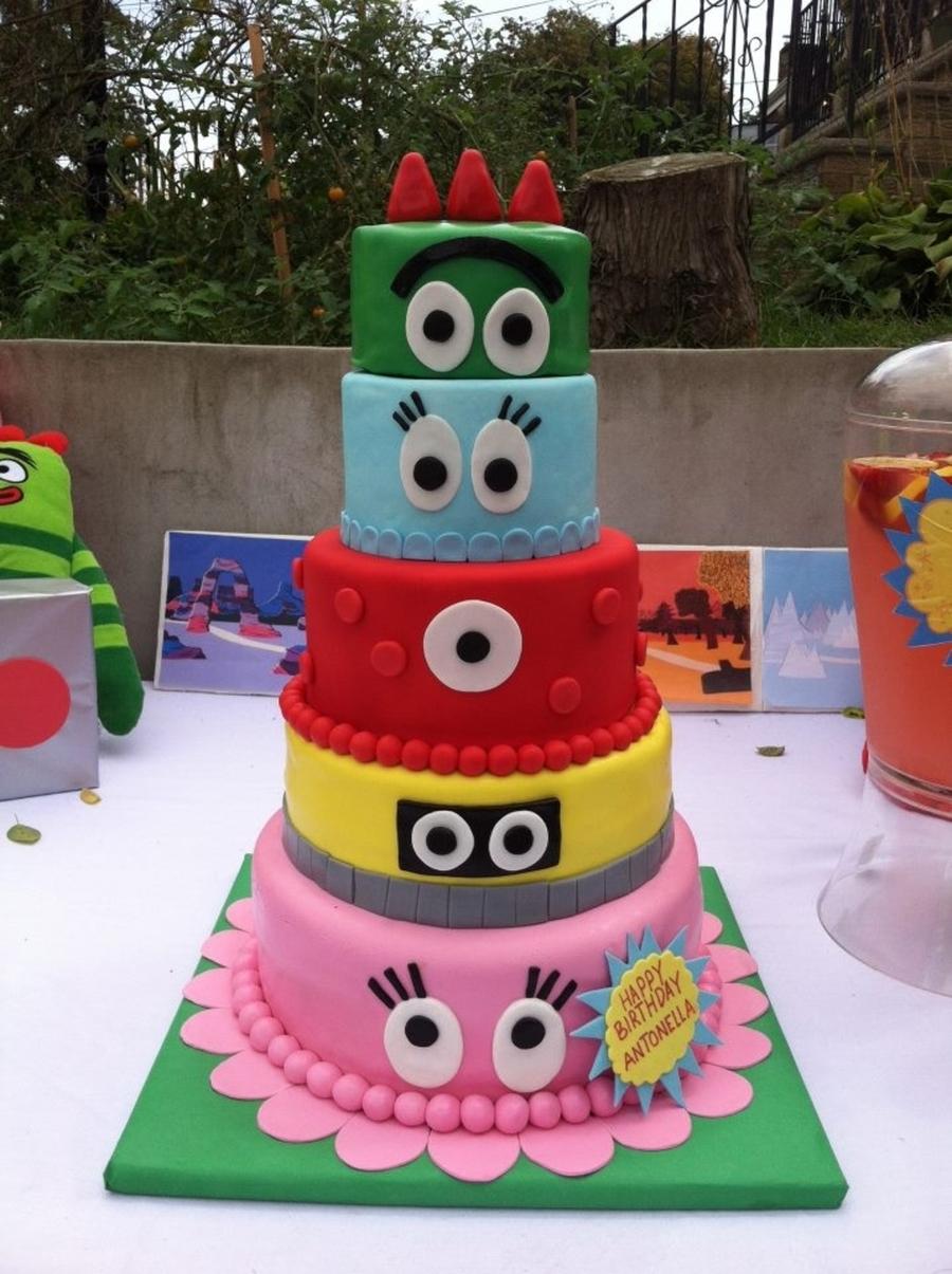 10 Gorgeous Yo Gabba Gabba Cakes Ideas yo gabba gabba cake cakecentral 1 2020