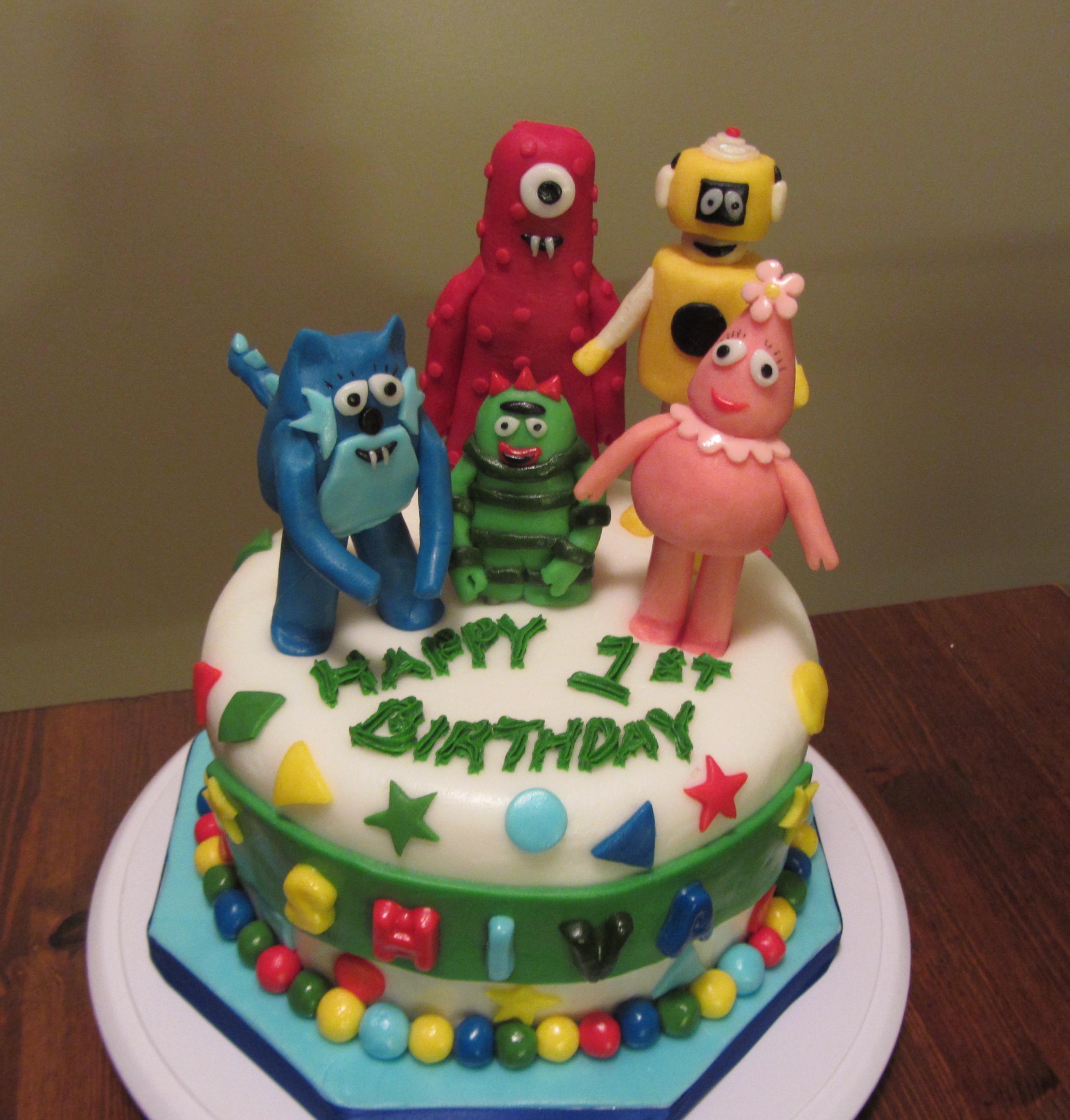 10 Gorgeous Yo Gabba Gabba Cakes Ideas yo gabba gabba cake party sweets cake decorating 2020