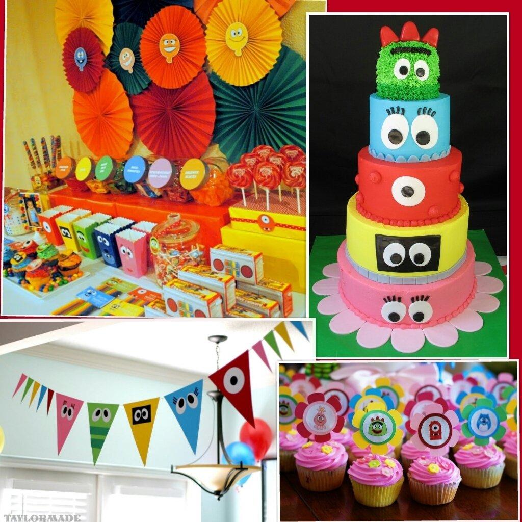10 Great Yo Gabba Gabba Birthday Party Ideas yo gabba gabba party nisartmacka 2020