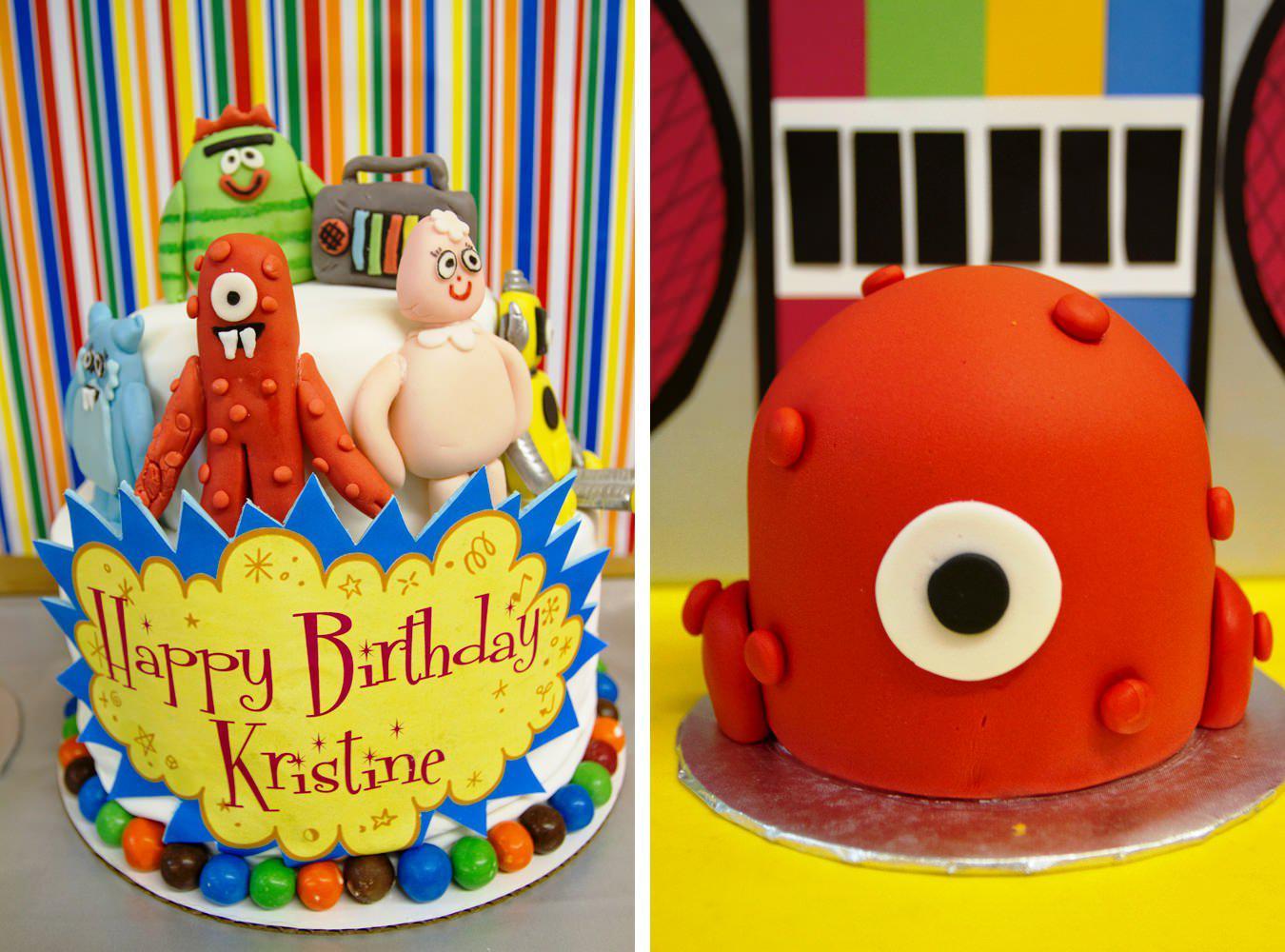 10 Gorgeous Yo Gabba Gabba Cakes Ideas yo gabba gabba themed birthday cakes urban dog coffee yo gabba 2020