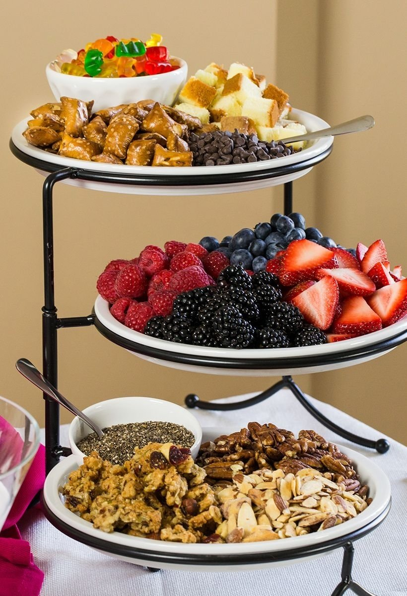 10 Pretty Breakfast Ideas For Work Party yogurt bar toppings work pinterest yogurt bar yogurt and bar